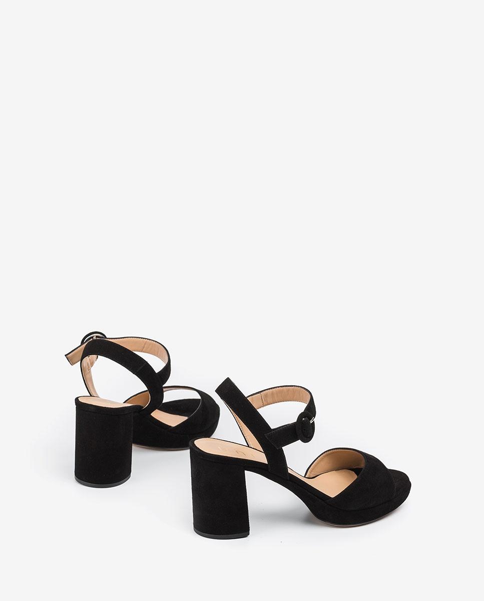 UNISA Schwarze Heel-Sandaletten OMERCI_KS black 5