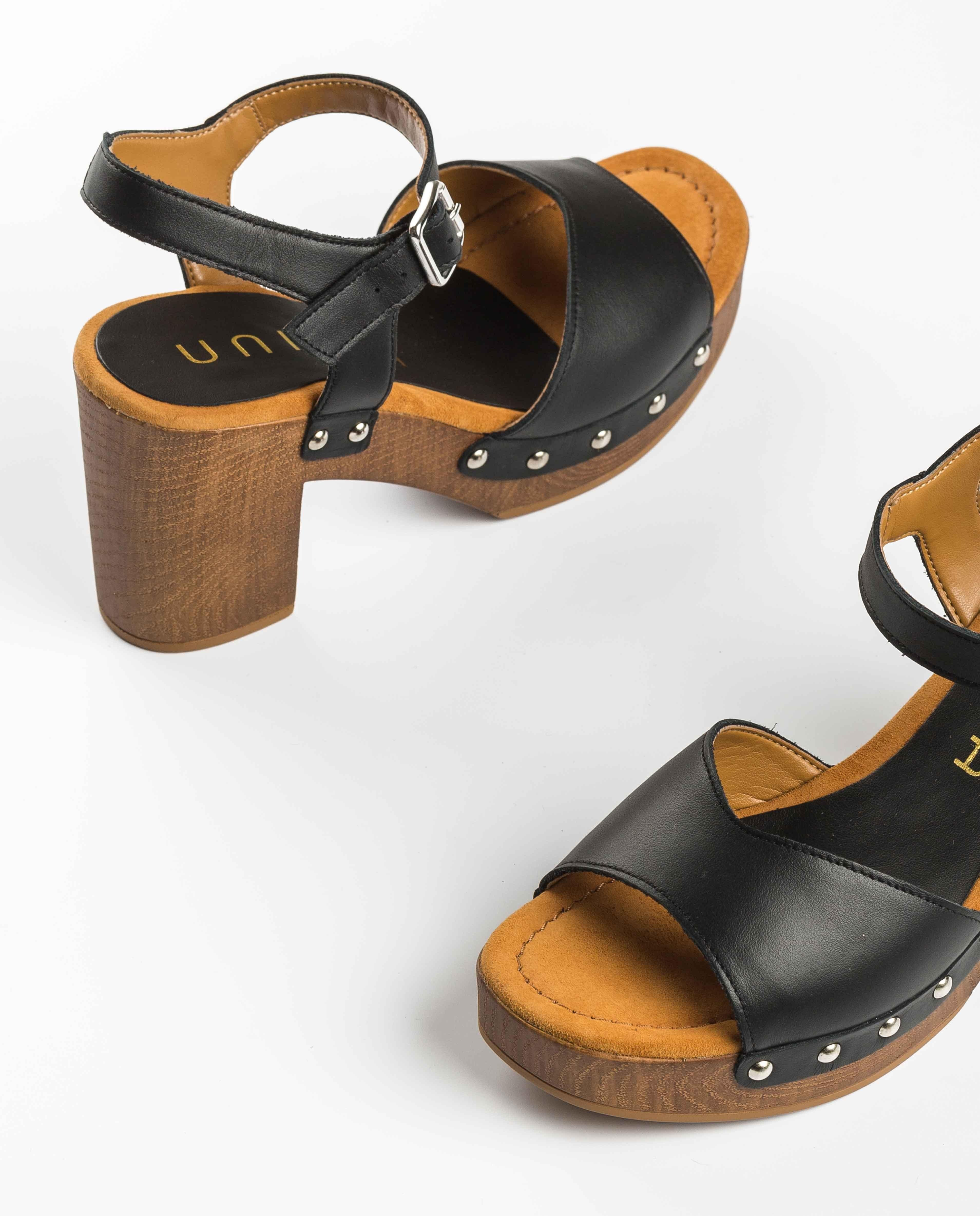 UNISA Sandaletten mit Nieten TACO_21_RAN 5