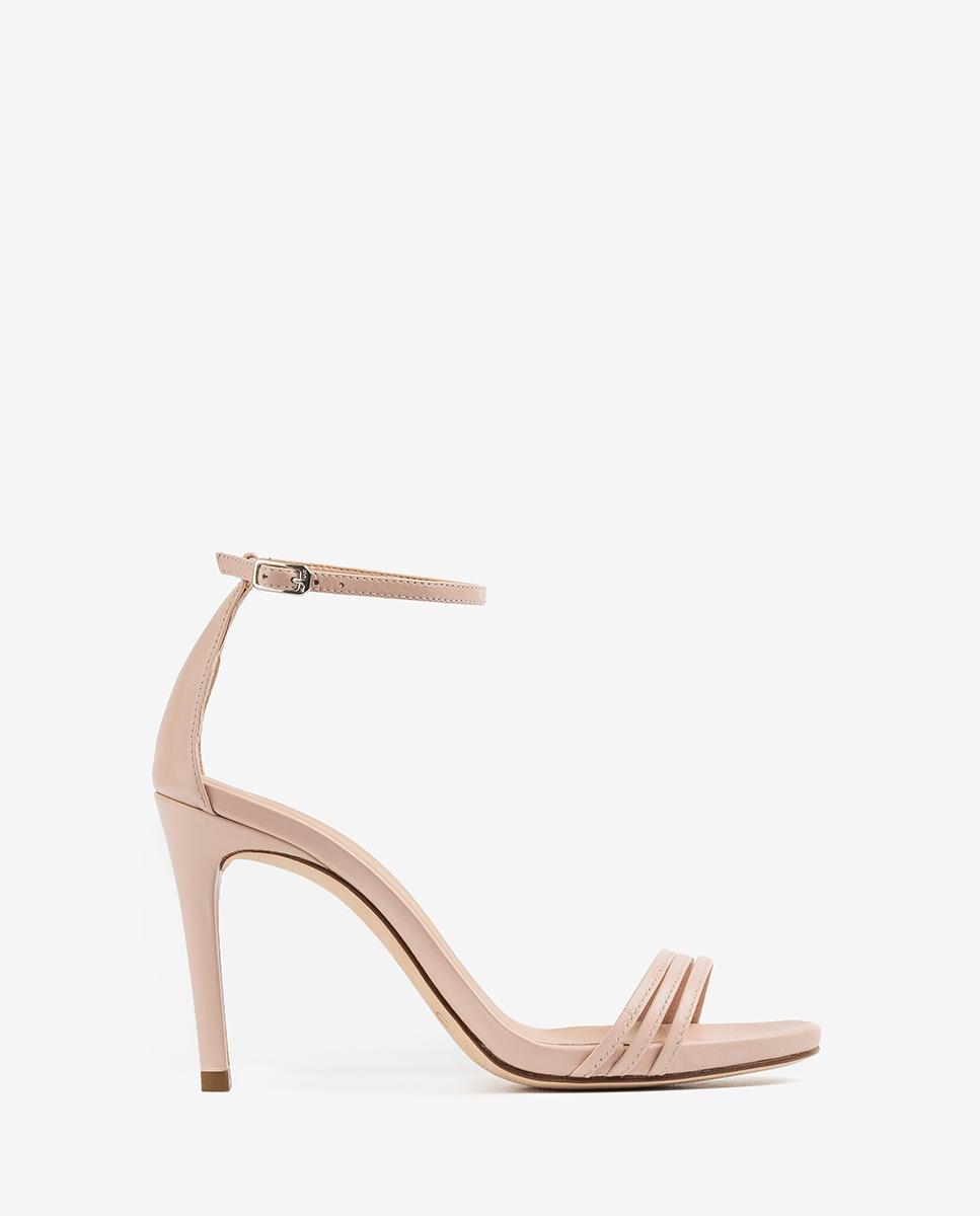UNISA Sandaletten mit Absatz und helllrosa Bändern YADIN_NA pale 5