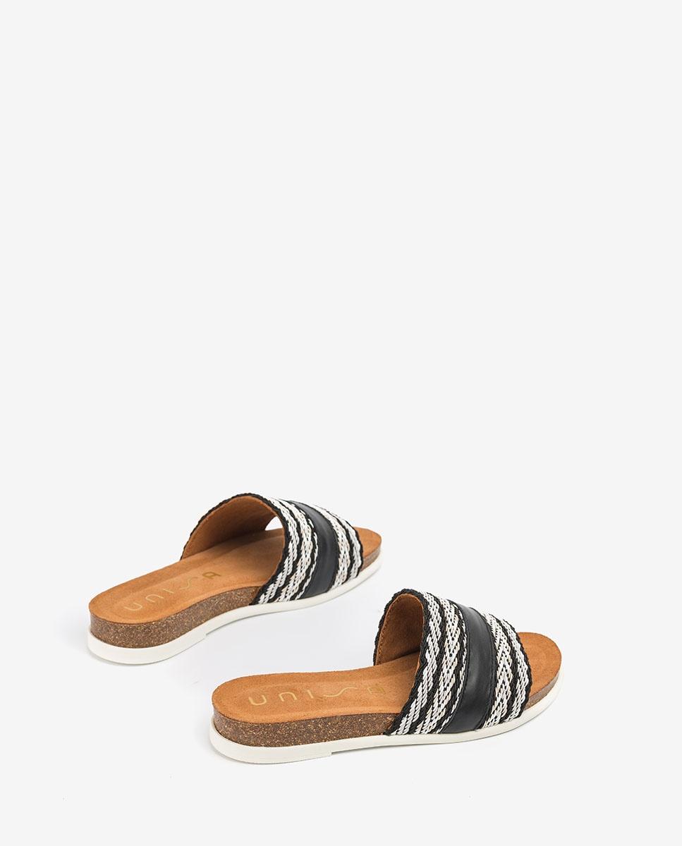 UNISA Sandalen mit kontrastierenden Bändern CRUSAT_NF black 5