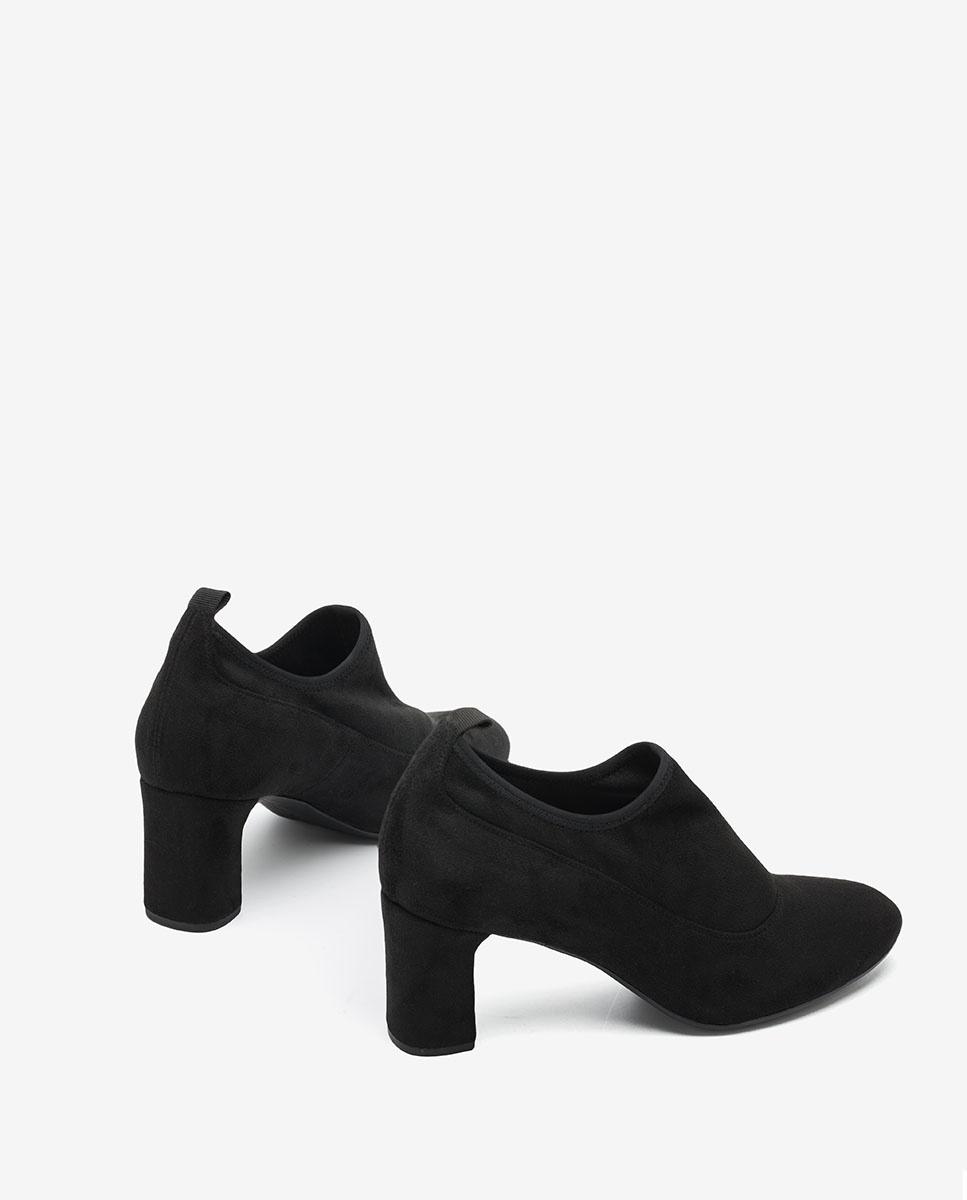 UNISA Schwarze elastische Ankle-Boots MESI_F20_ST black 5