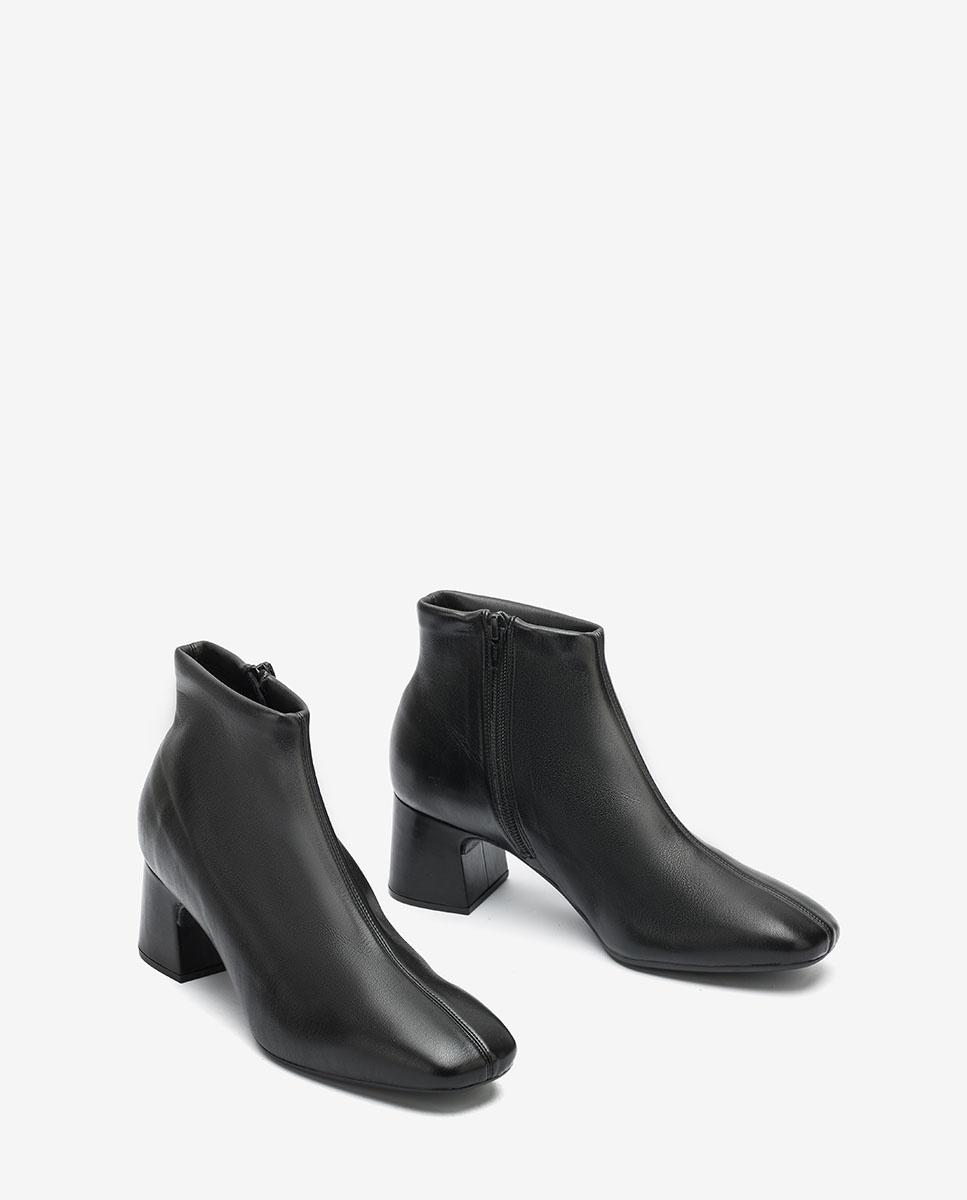 UNISA Elastische Ankle-Boots MONFOR_STN black 5