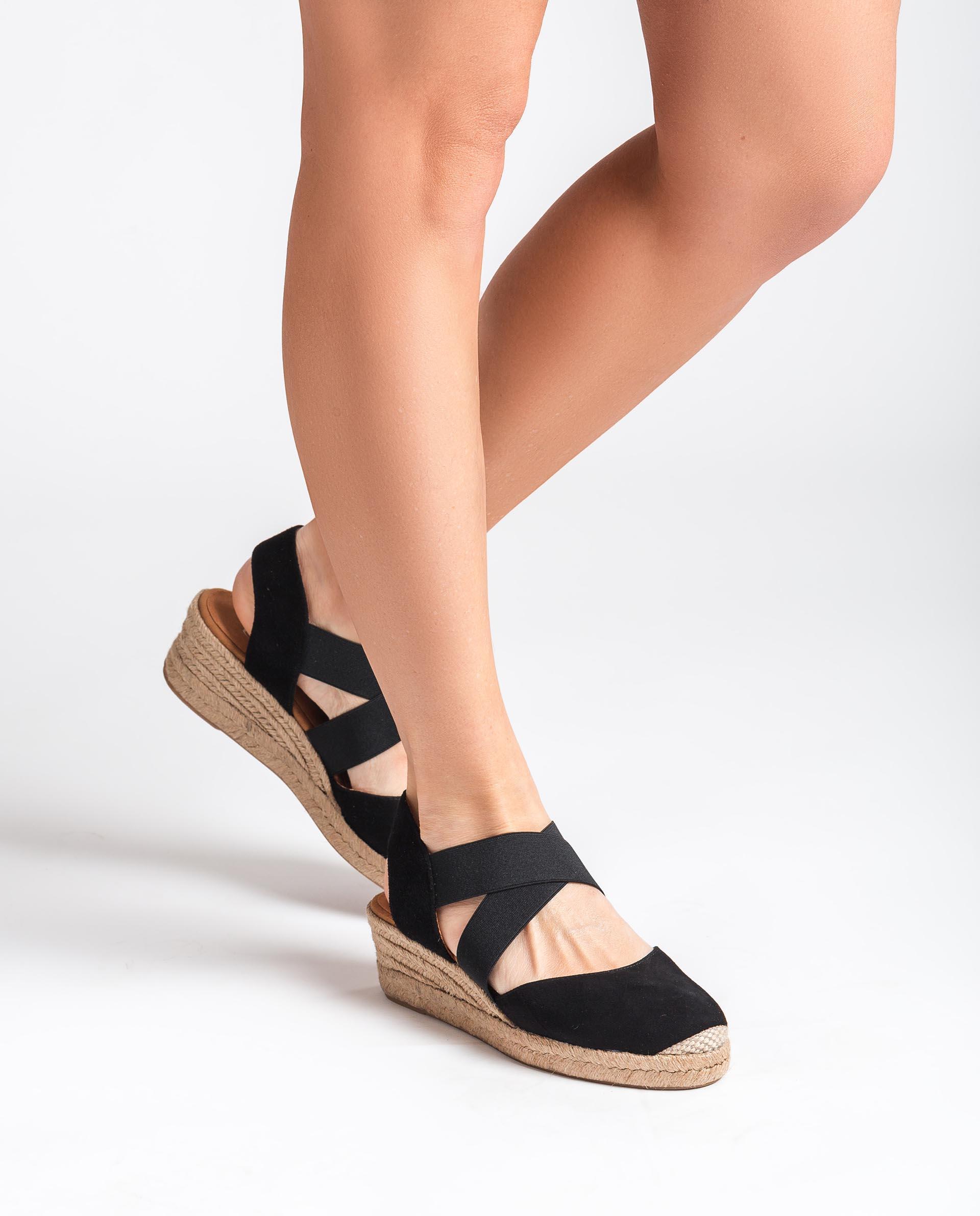 UNISA Sandalen mit elastischen Bändern CELE_21_KS 5