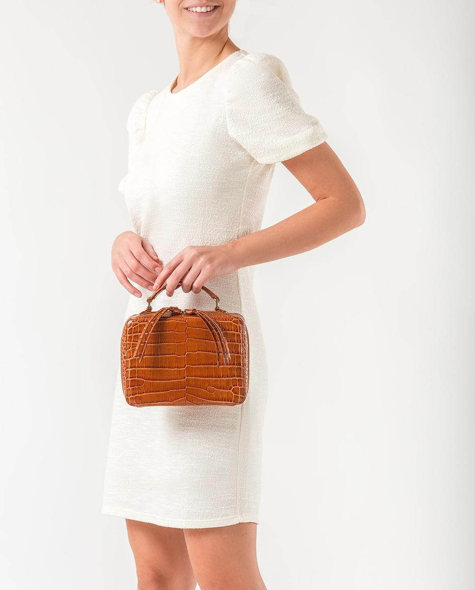 UNISA Box Bag mit Henkel ZBELE_CRW bisquit 5