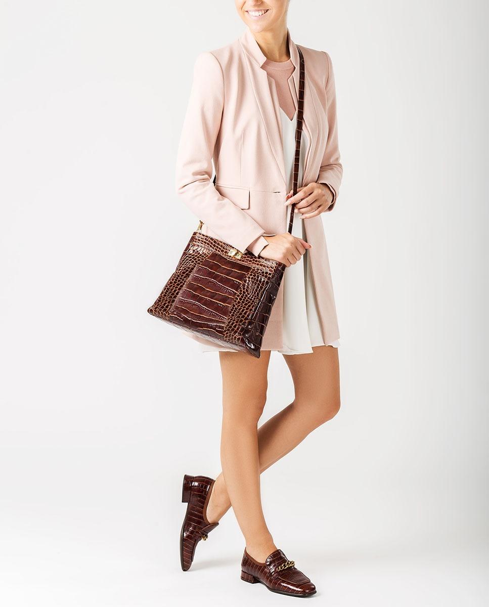 UNISA Handtasche aus Leder in Kroko-Optik ZMOUSSI_LAO wonka 5
