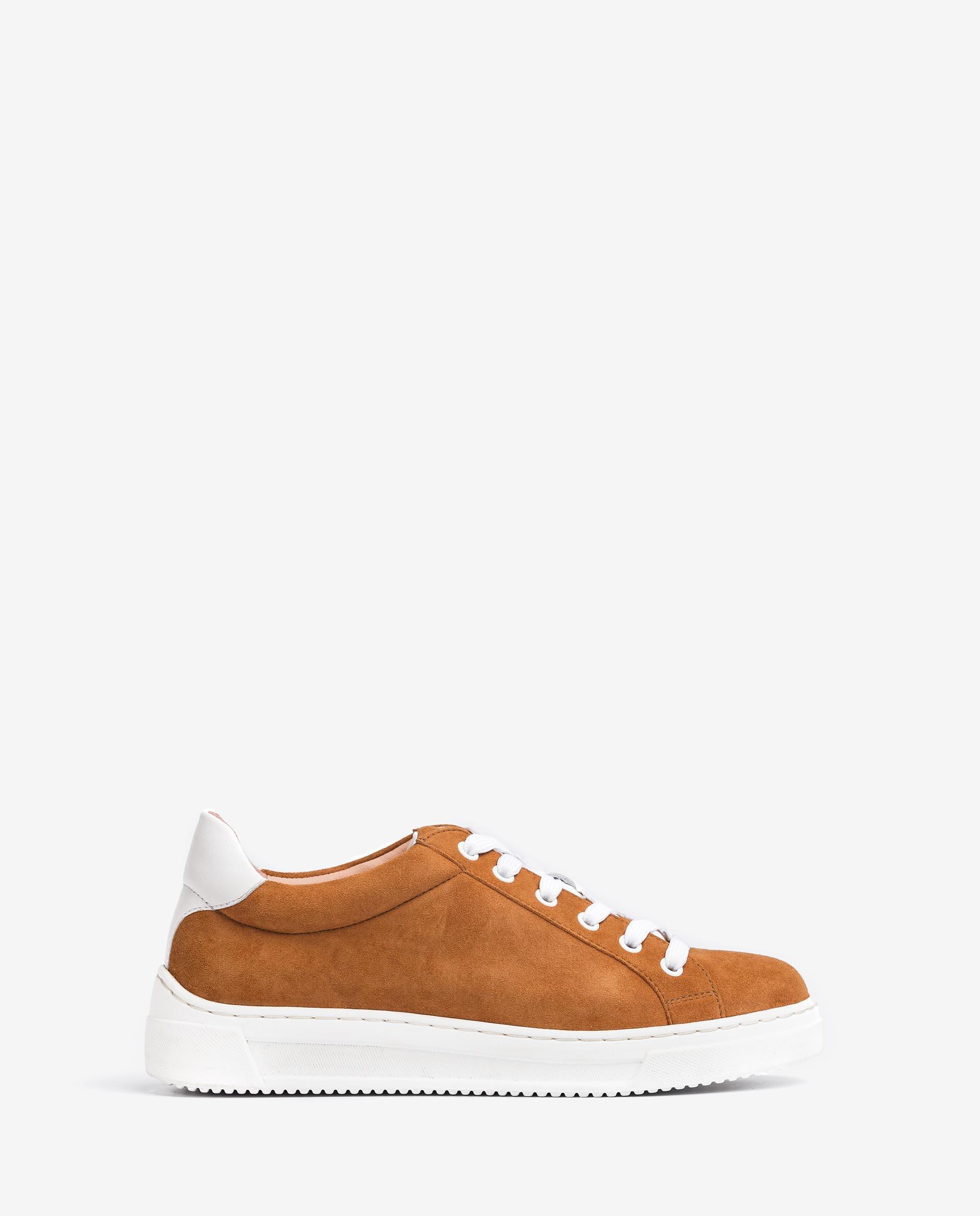UNISA Sneaker aus Leder und Wildleder FASNIA_KS_NF 5
