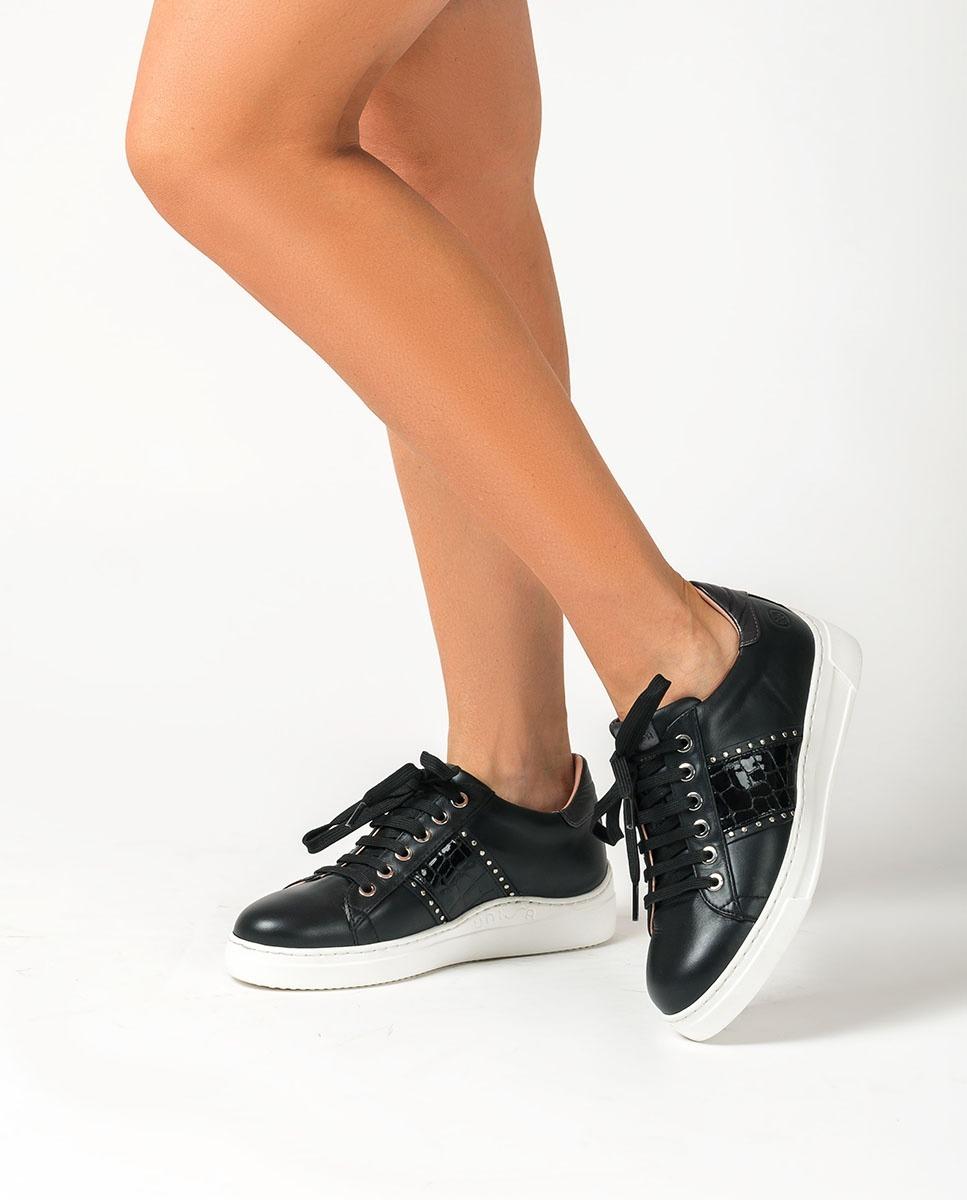 UNISA Sneaker mit Nieten FLINT_NF_CSH black 5