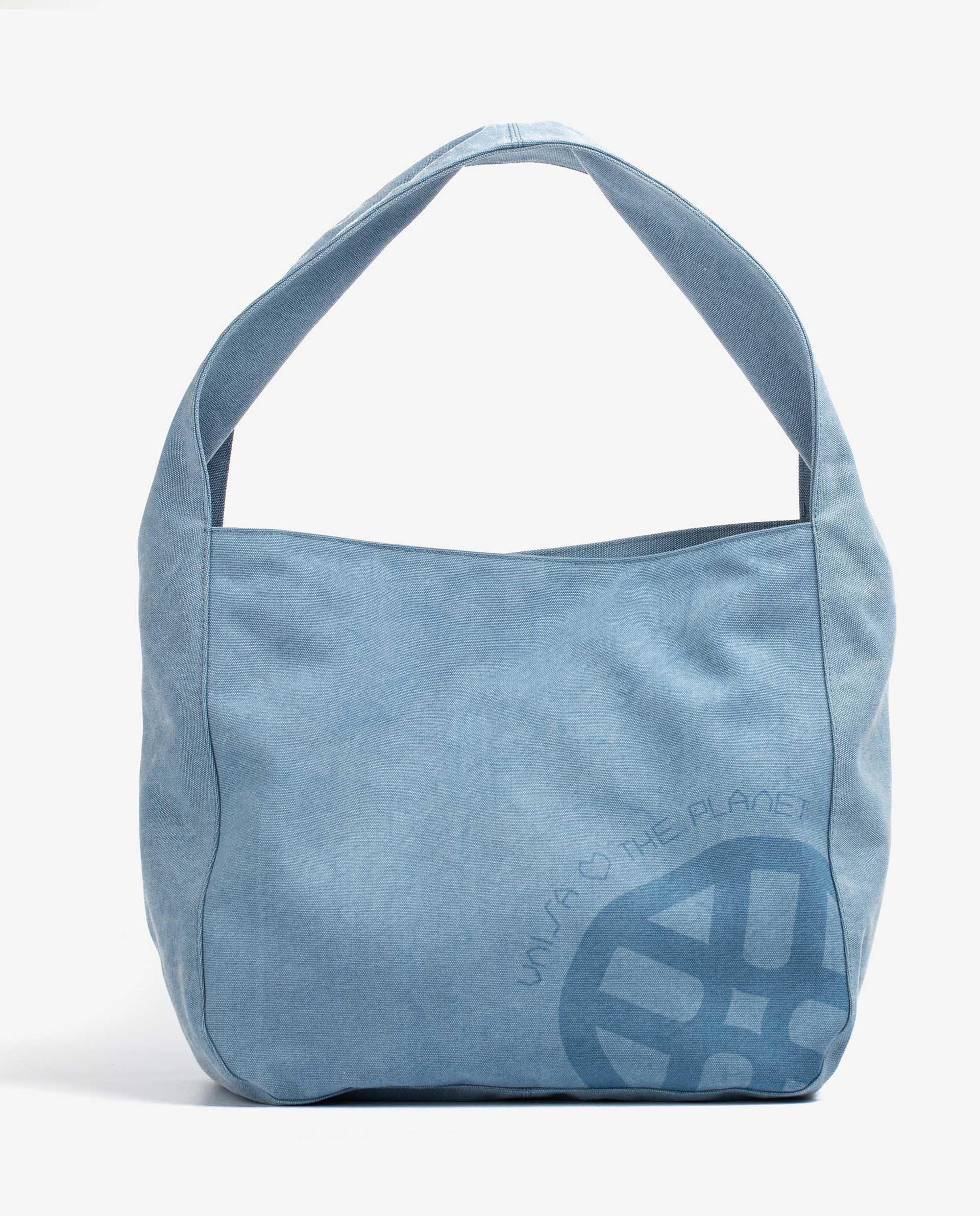 UNISA Hobo Bag aus EcoLino mit graviertem Monogramm ZMINTAECO_ECL 5