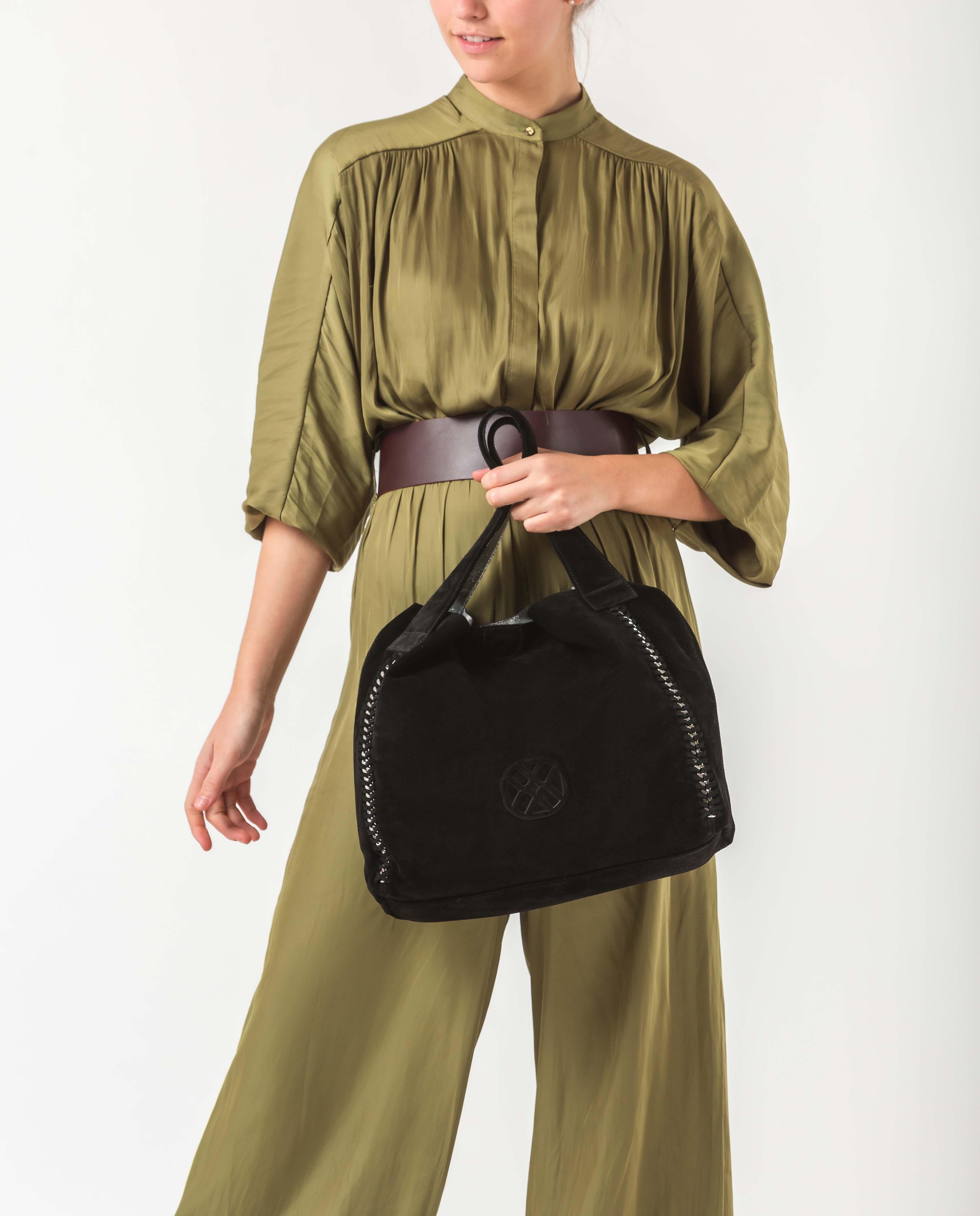UNISA Tote Bag mit Monogramm ZSAMBA_BM black 5