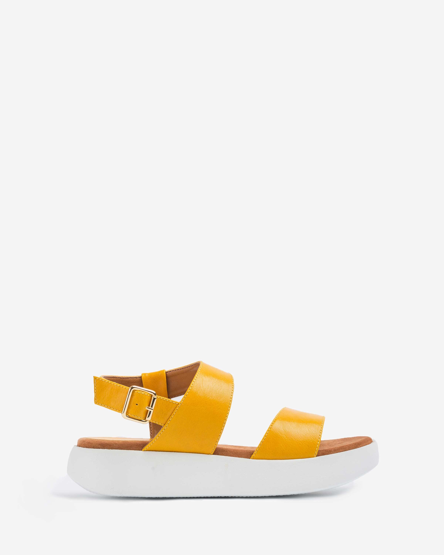 UNISA Gelbe sportliche Sandalen BIMAX_GCR limone 5