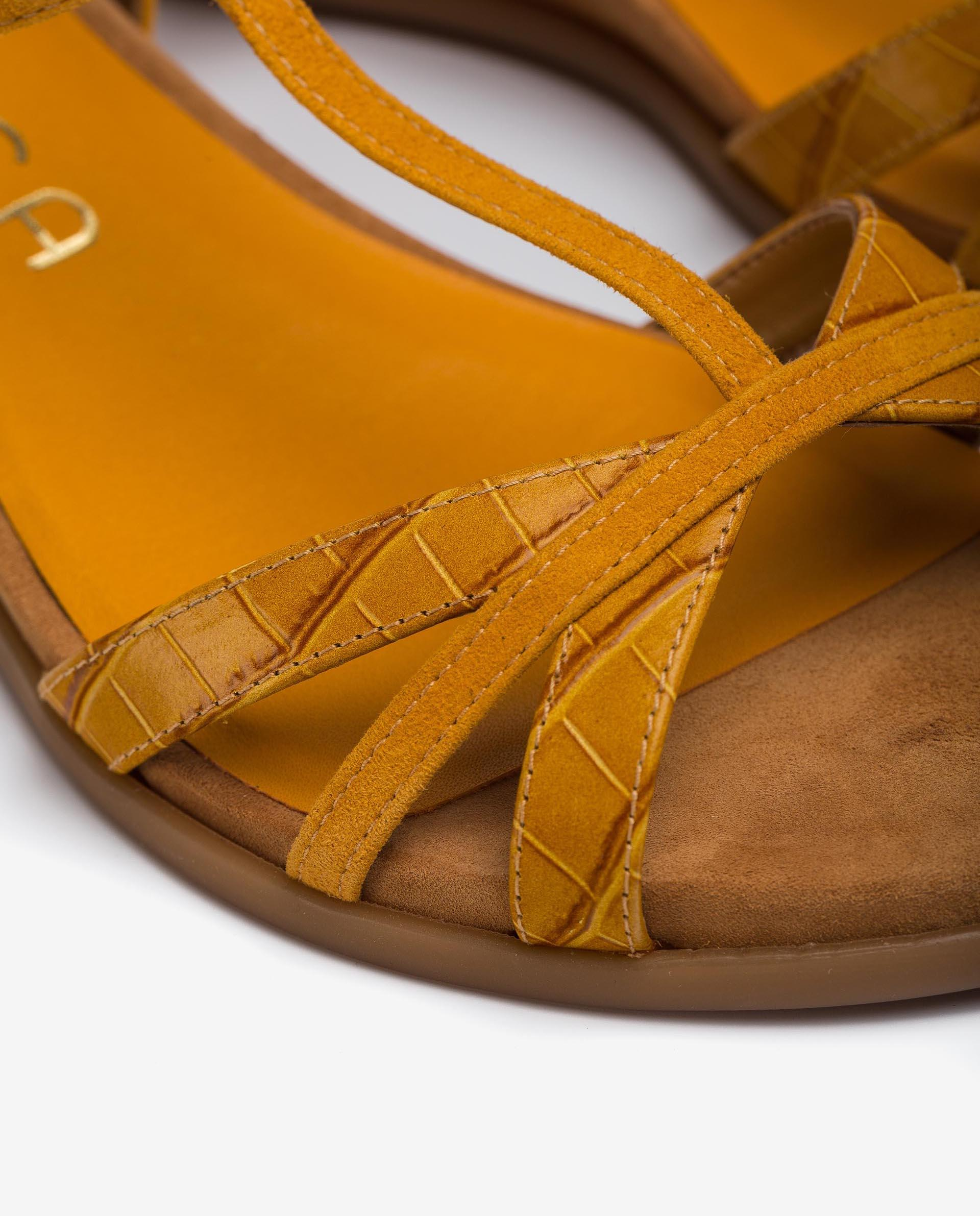 UNISA T-Strap-Sandaletten mit Wildlederstreifen BINAR_21_LAU_KS 5