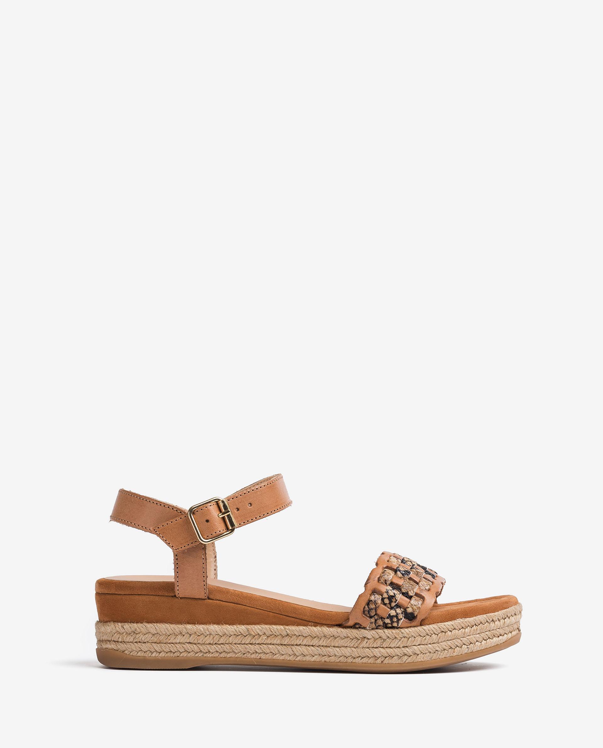 UNISA Sandaletten mit geflochtenem Oberleder GATIKA_RAN_VIP 5