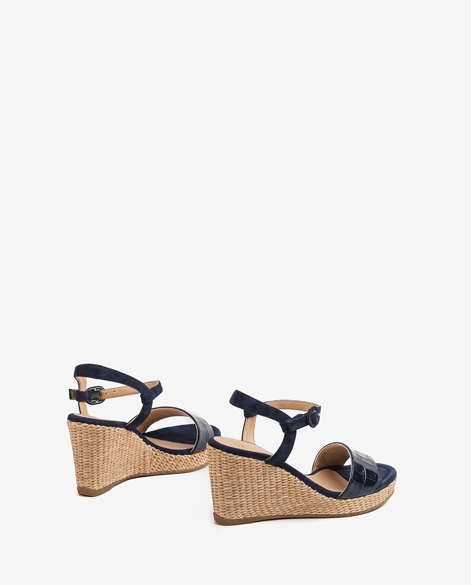 UNISA Sandaletten mit Kroko-Optik LUPA_CRW_KS ocean 5