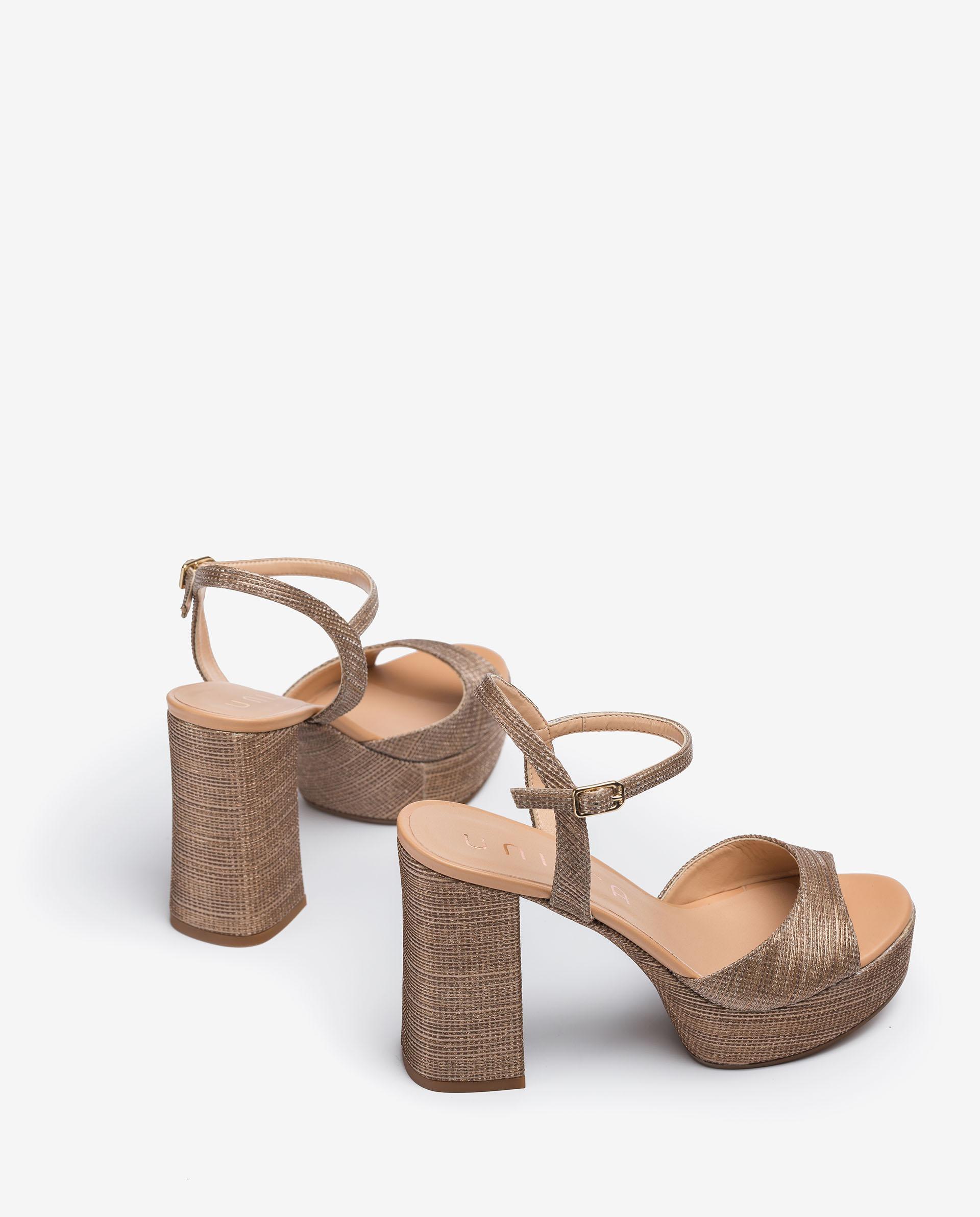 UNISA Sandalen im 70's-Style VEGARA_21_RAD_NA 5