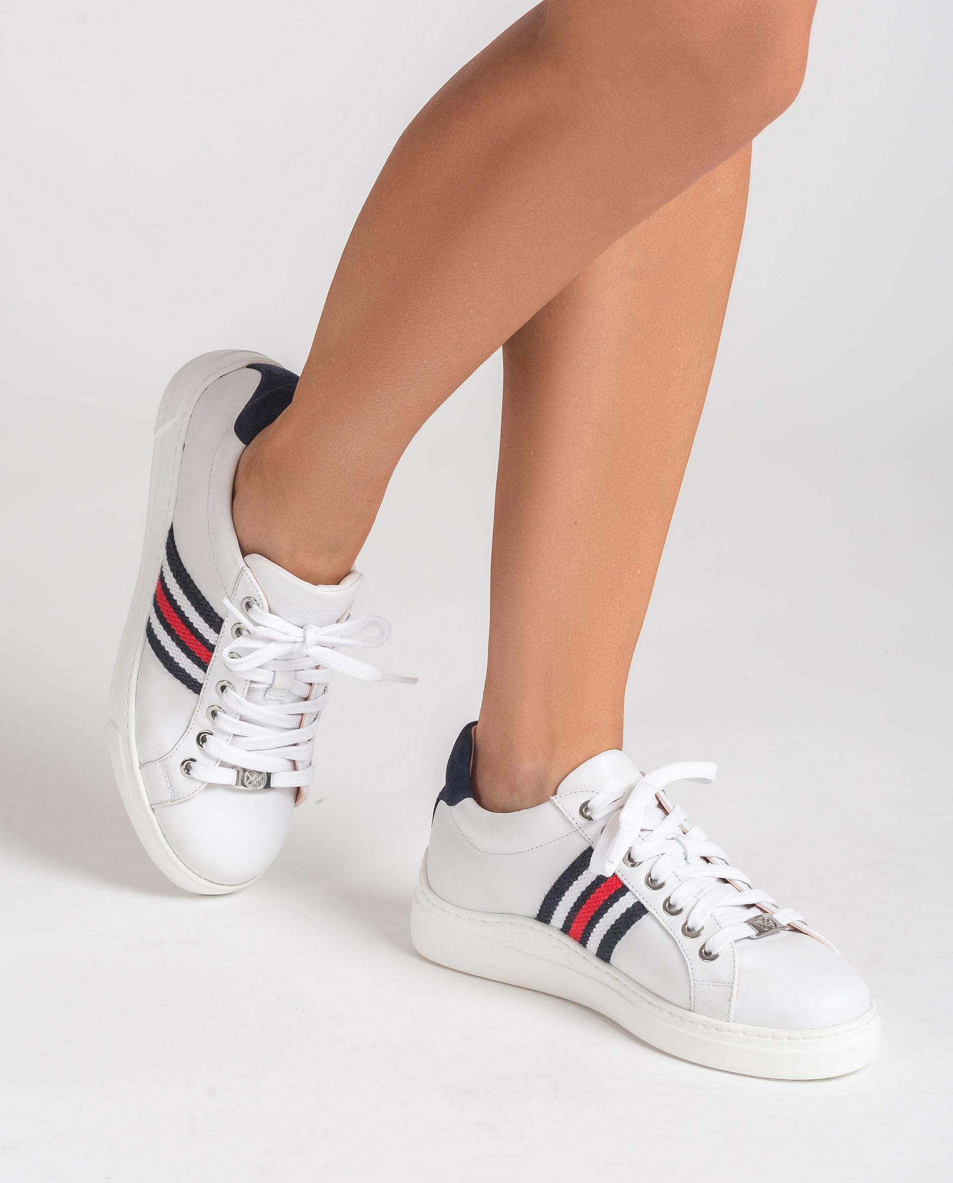 UNISA Leder-Sneaker mit buntem Seitenstreifen FAROLA_21_NF 5