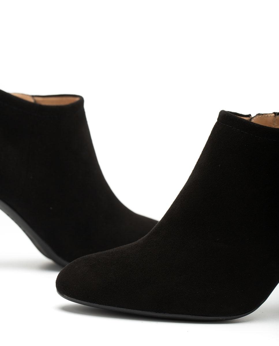 UNISA Ankle-Boots aus Wildleder mit Absatz UCHI_F20_KS black 5