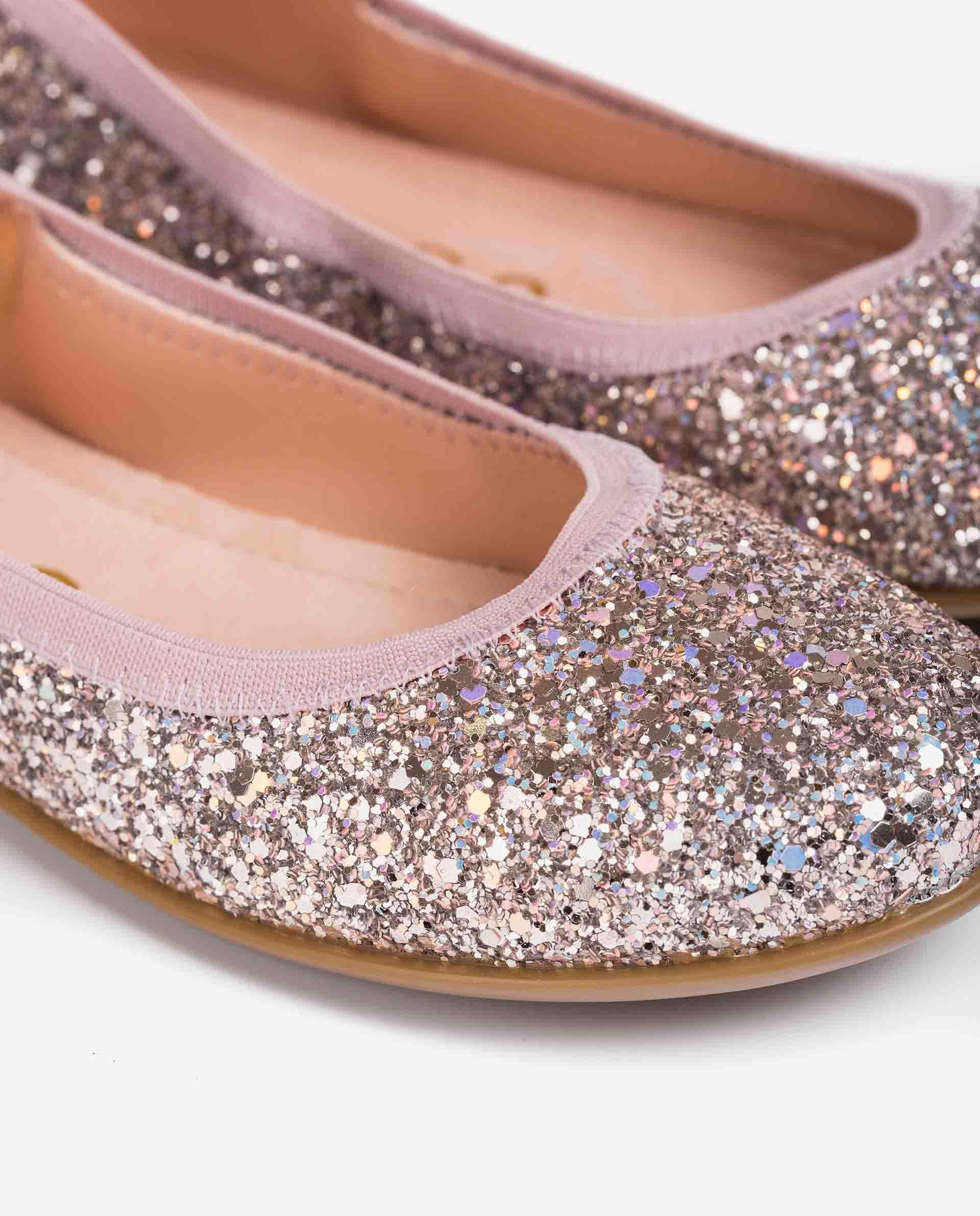 UNISA Glitzer-Ballerinas für Mädchen SABRINA_21_GL 5