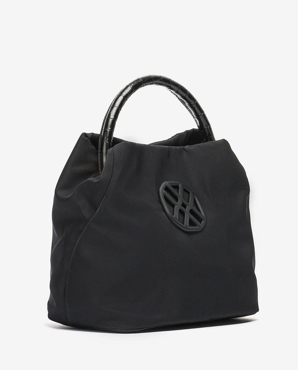 UNISA Handtasche mit zwei Handgriffen ZDULA_BUS_LAU black 5