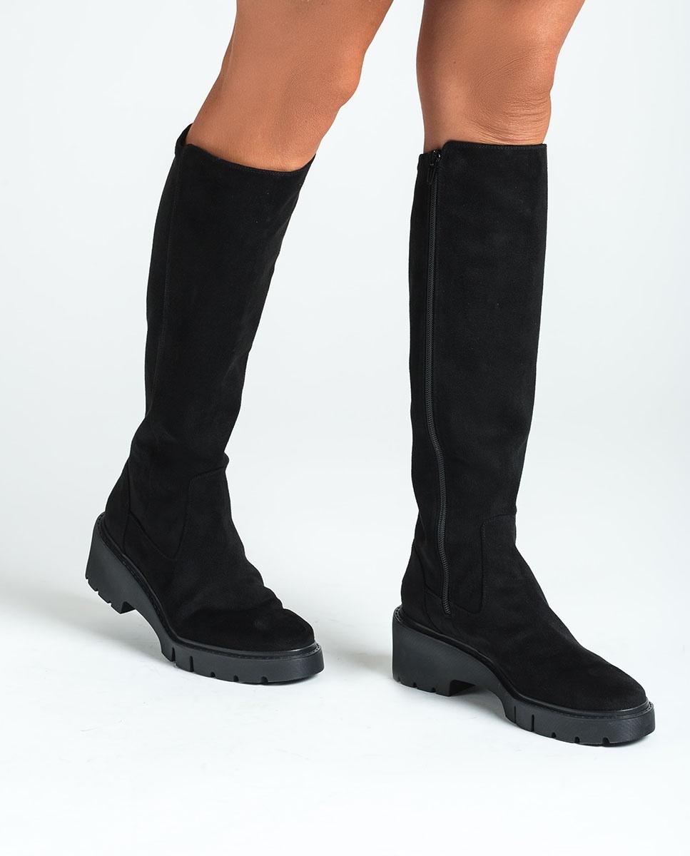 UNISA Elastische Stiefel mit Trekkingsohle JELIZA_ST black 5