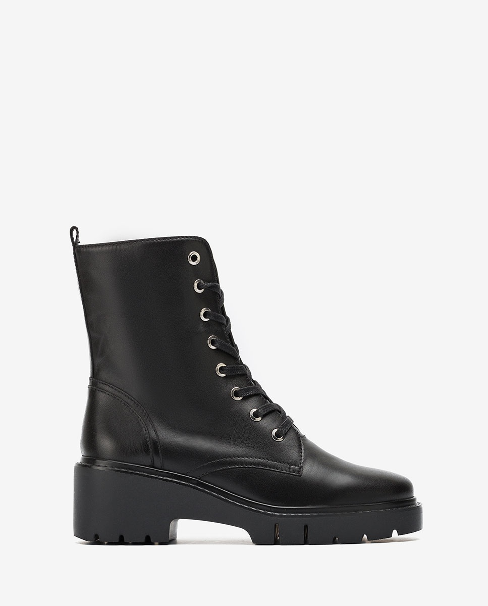 UNISA Schwarze Military-Boots JRISO_VU black 5