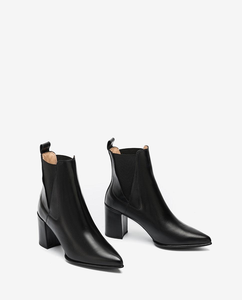 UNISA Chelsea-Boots mit Absatz KILMAN_NE black 5