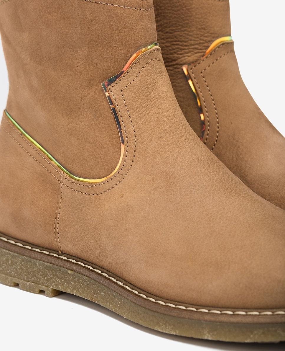 UNISA Glänzende Stiefel für kleine Mädchen NOLAN_F20_BLU ginger 5