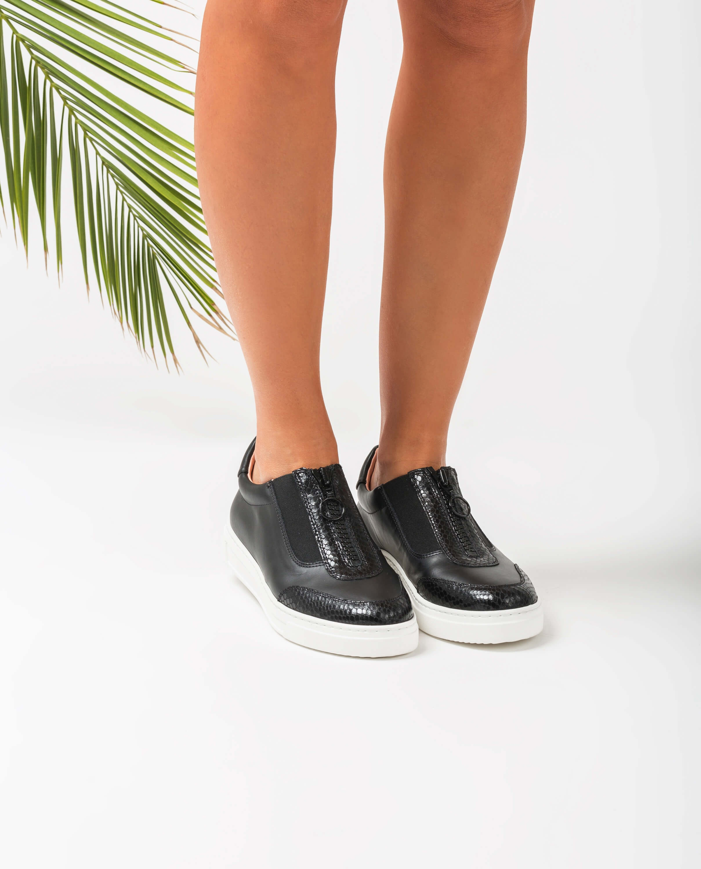 UNISA Sneaker mit Reißverschluss FUENTES_NF_REP black 5