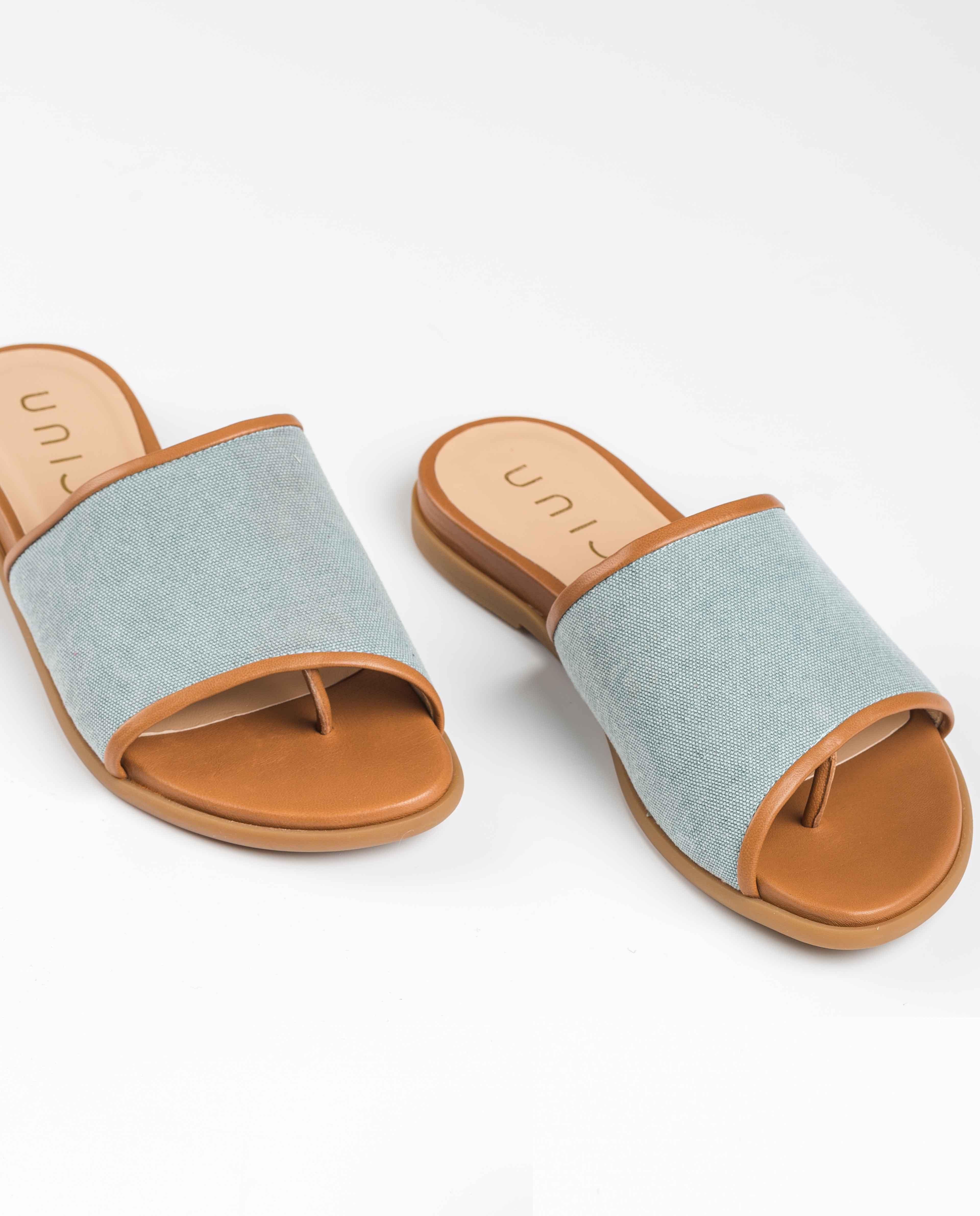 Unisa Zehentrenner-Sandalen CANDI_ECL_NA jeans/bisq
