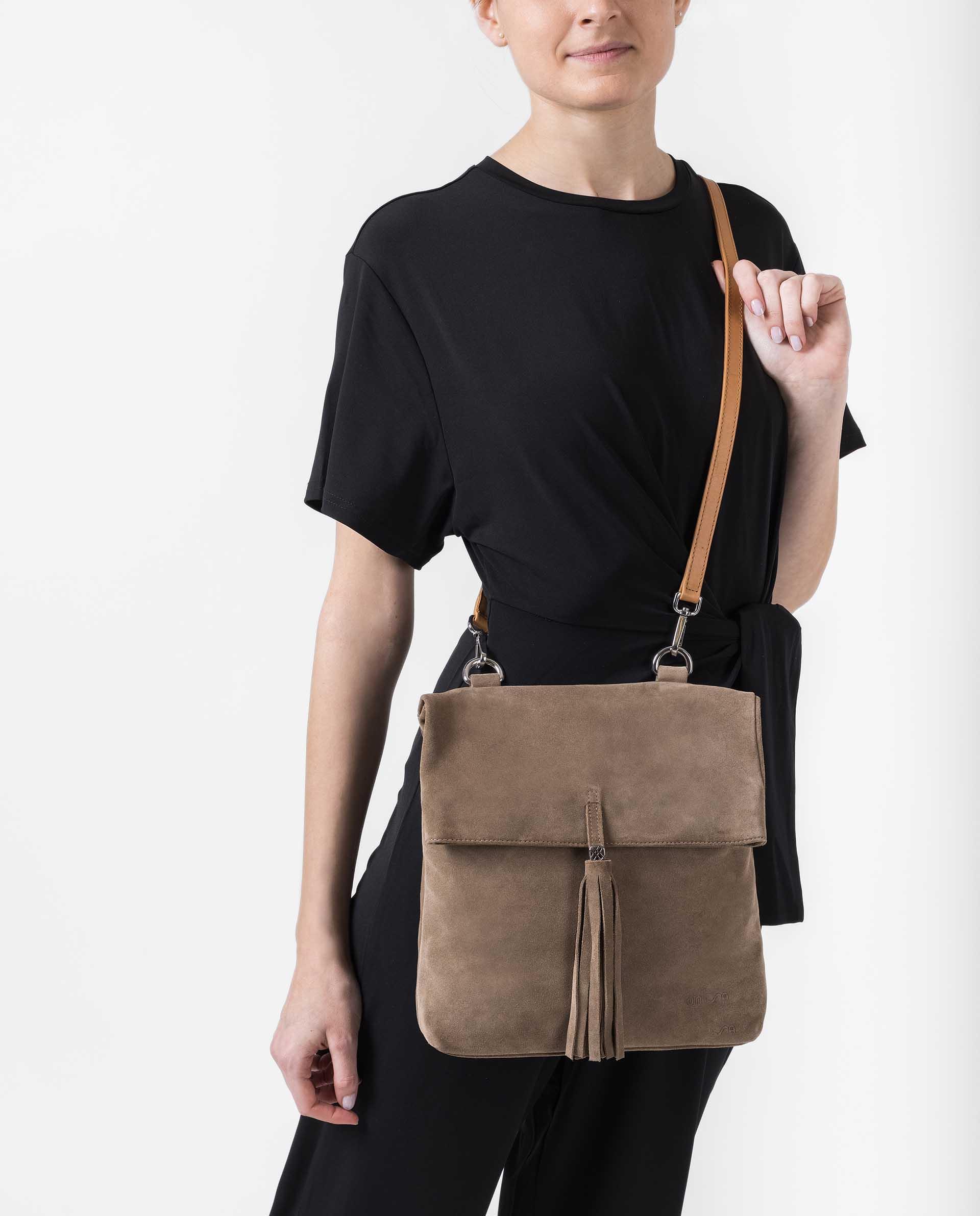 UNISA Handtasche zum Umklappen mit Magnetverschluss ZKALIKA_BS 5