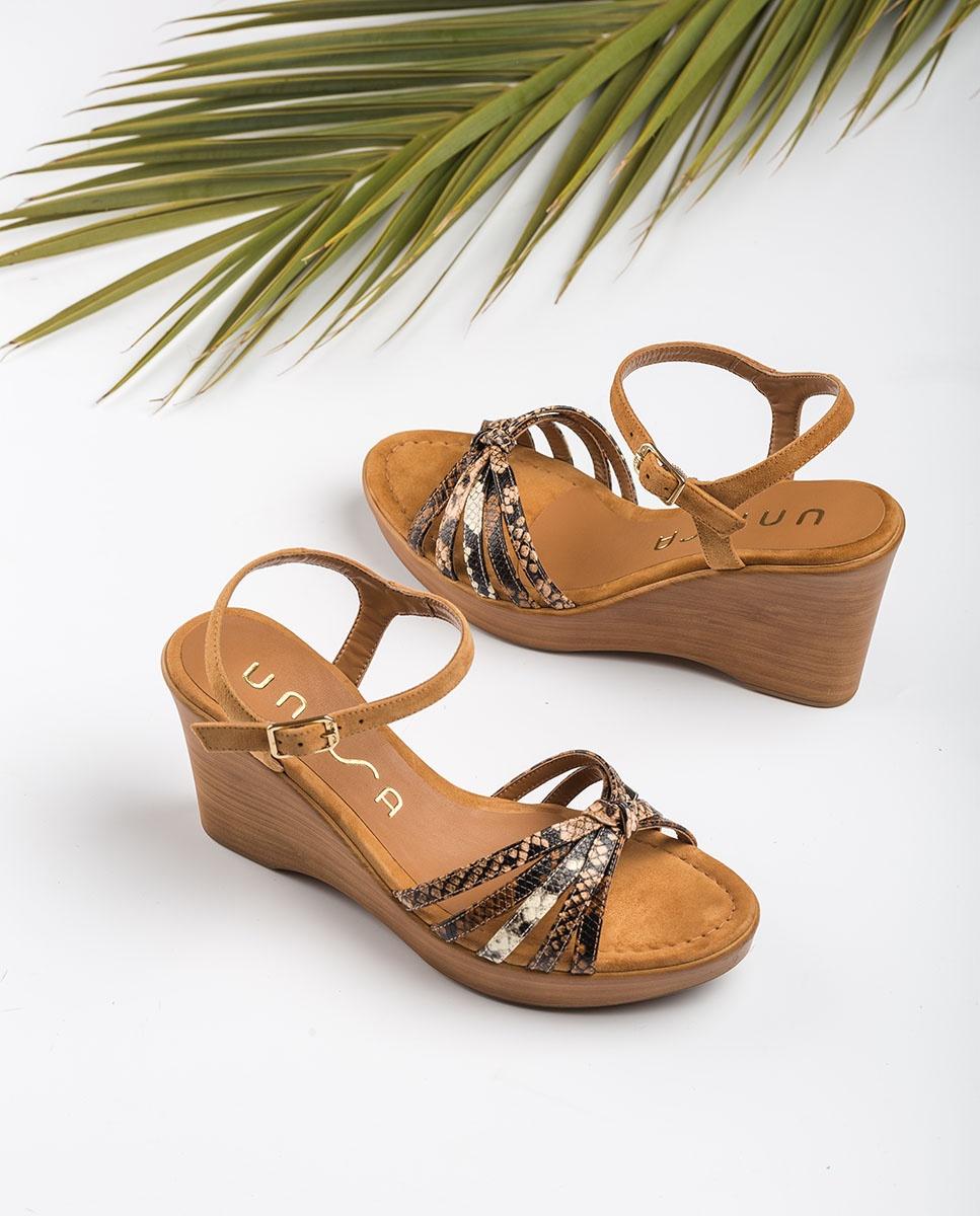 UNISA Sandaletten mit kontrastierenden Bändern RAMIREZ_VIP_KS tek/sun/na 5