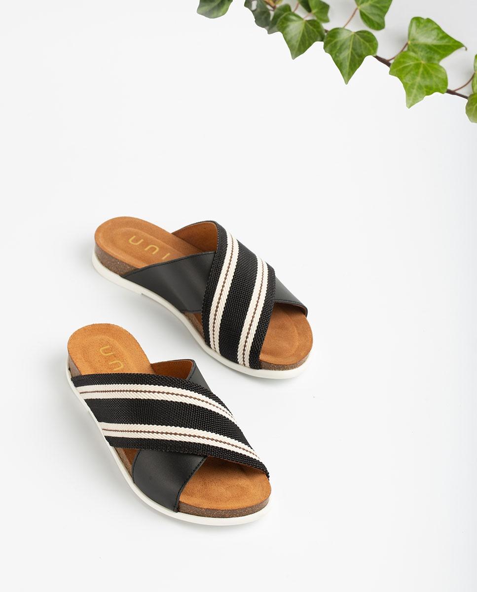 UNISA Sandalen mit kontrastierenden Bändern CHIVAS_NF  black 5