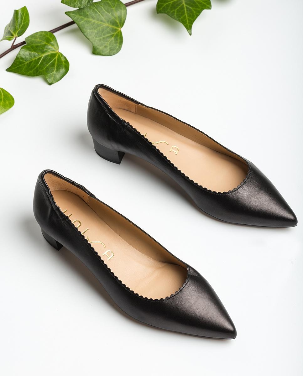 UNISA Leather pumps pointy toe GUNKER_VU black 2