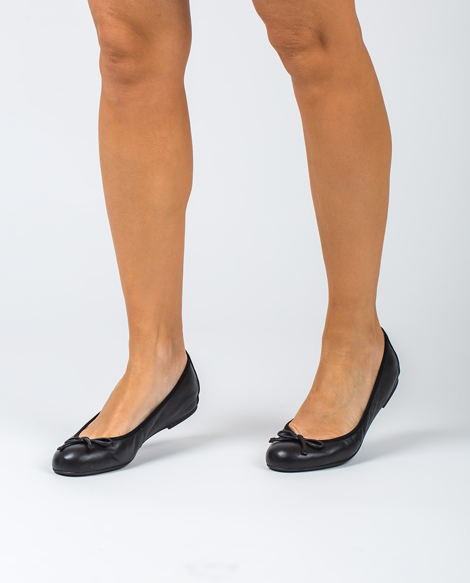 UNISA Black bow ballerinas ACOR_20_NS black 2