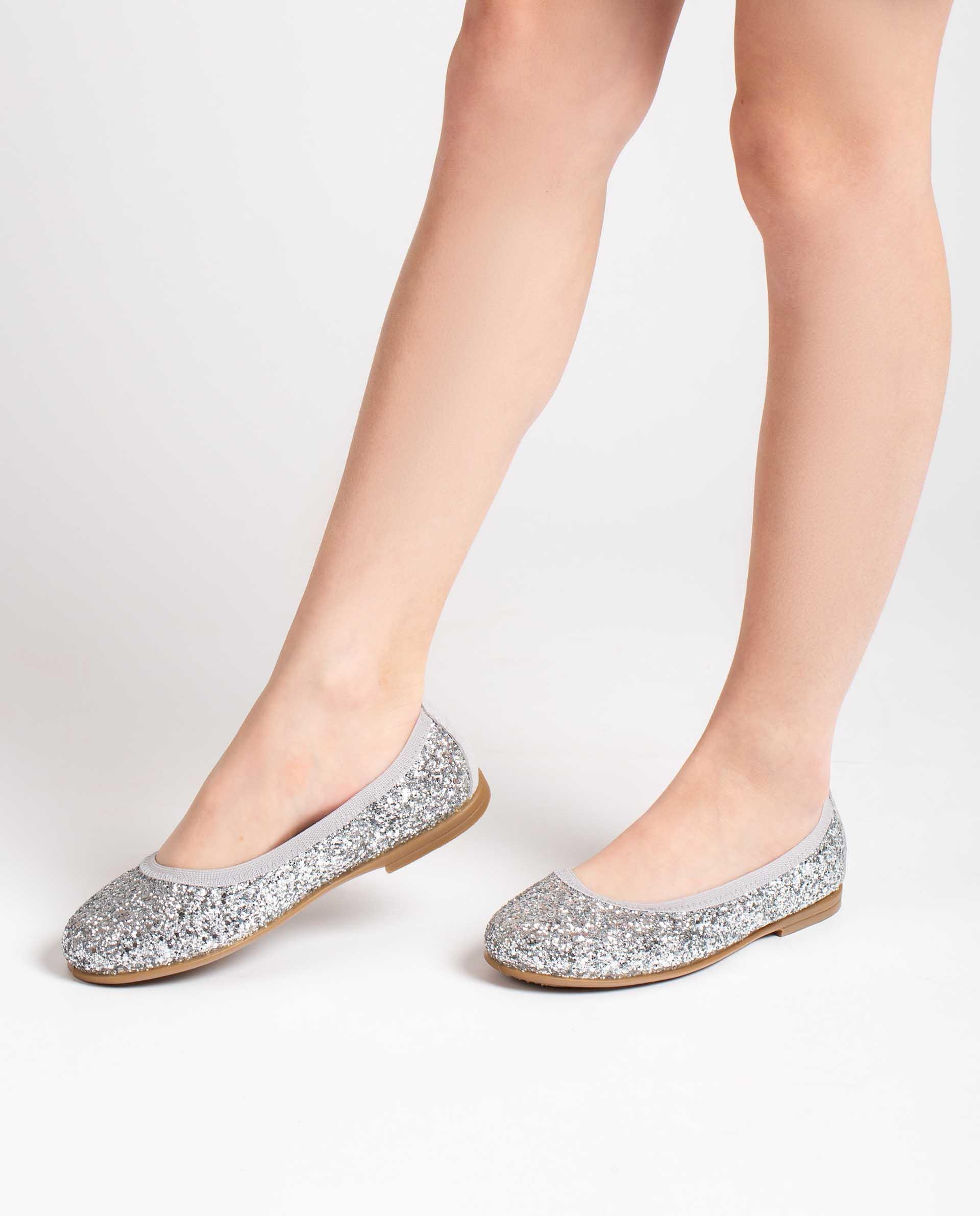 Unisa Ballerinas SABRINA_21_GL silver