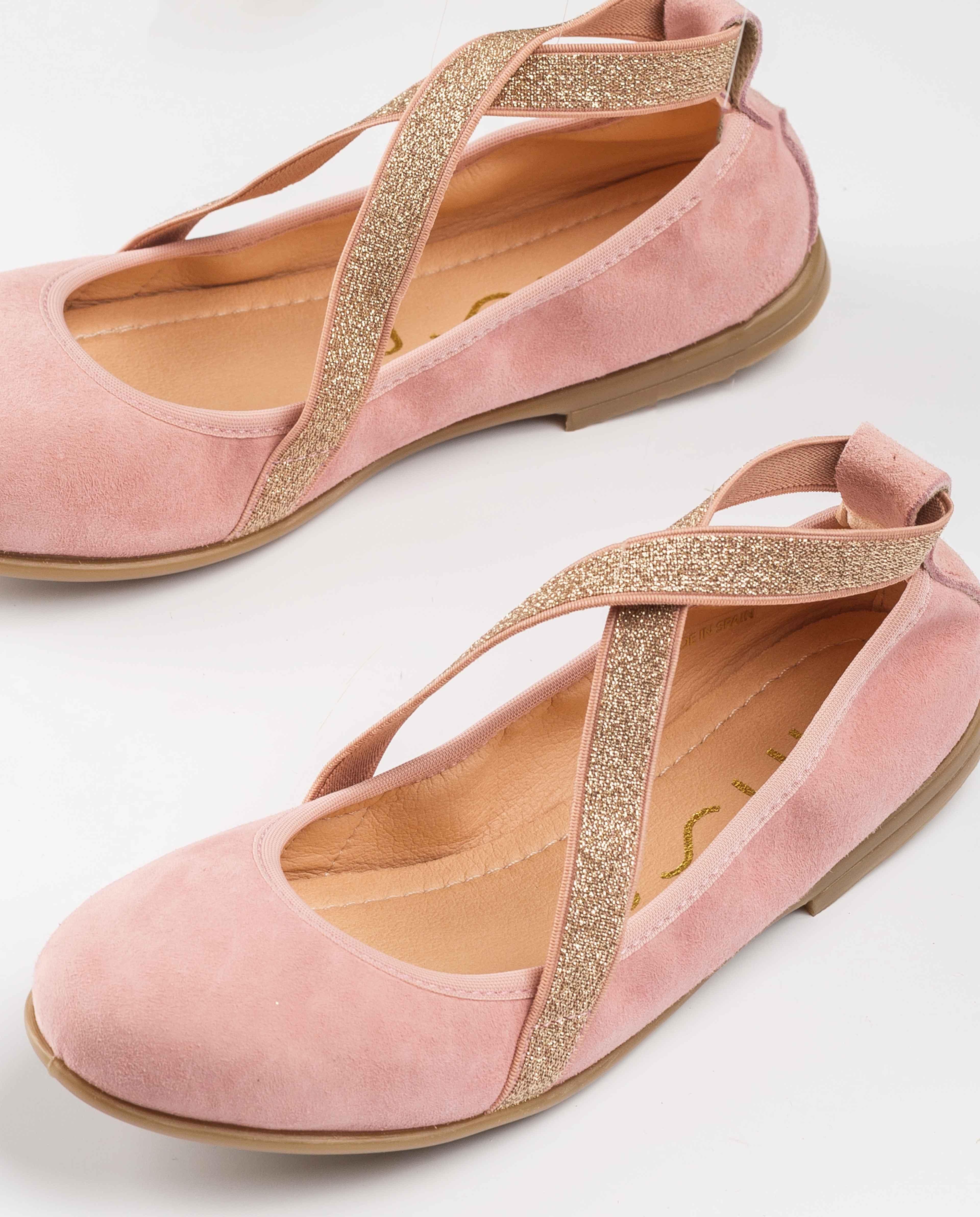 UNISA Glitter ballerinas elastics SILVIO_KS dalia 2