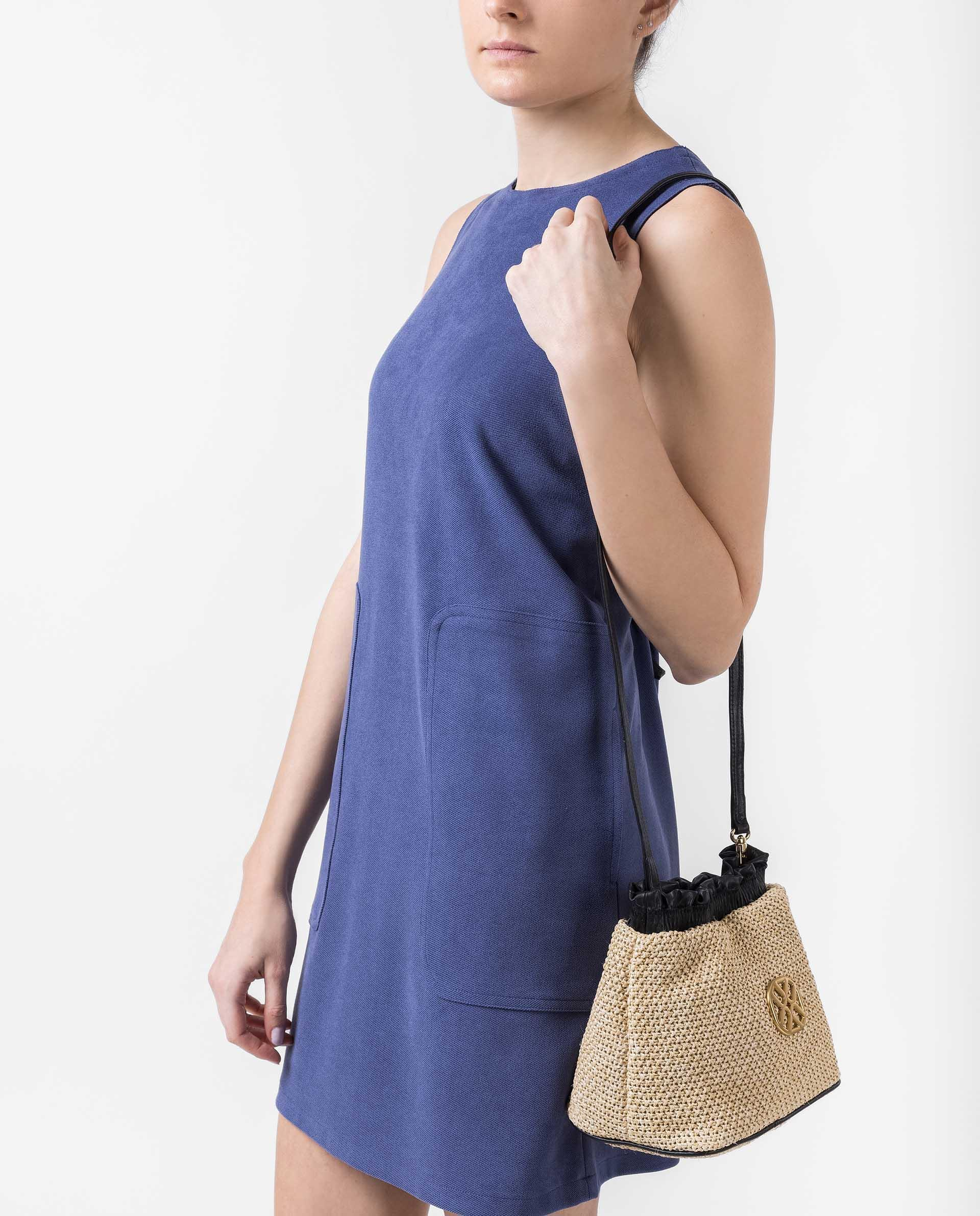 UNISA Pouch type bag with monogram detail ZCALISTA_RC_NT 2