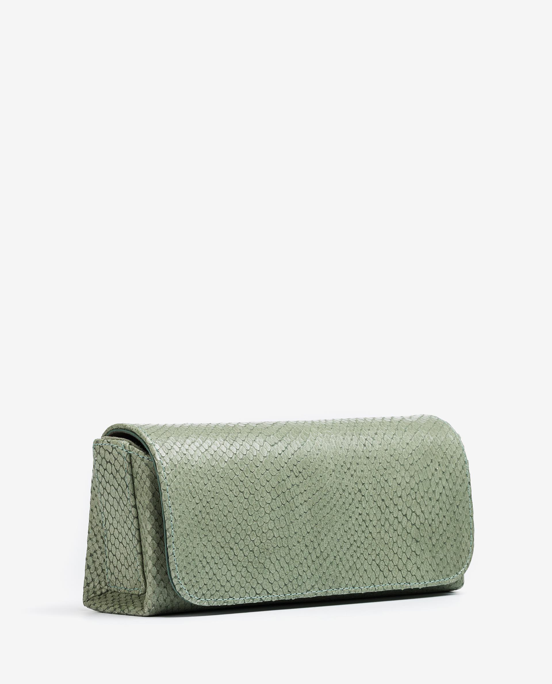 UNISA Snake effect leather shoulder bag ZDREAM_21_NEF 2