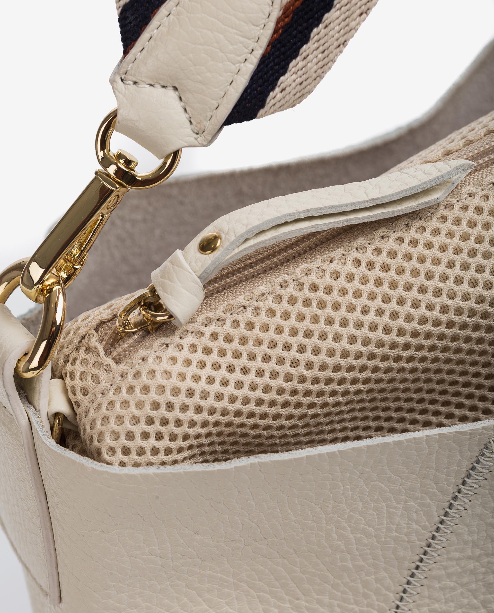UNISA Leather shopper bag ZUNI_MM 2