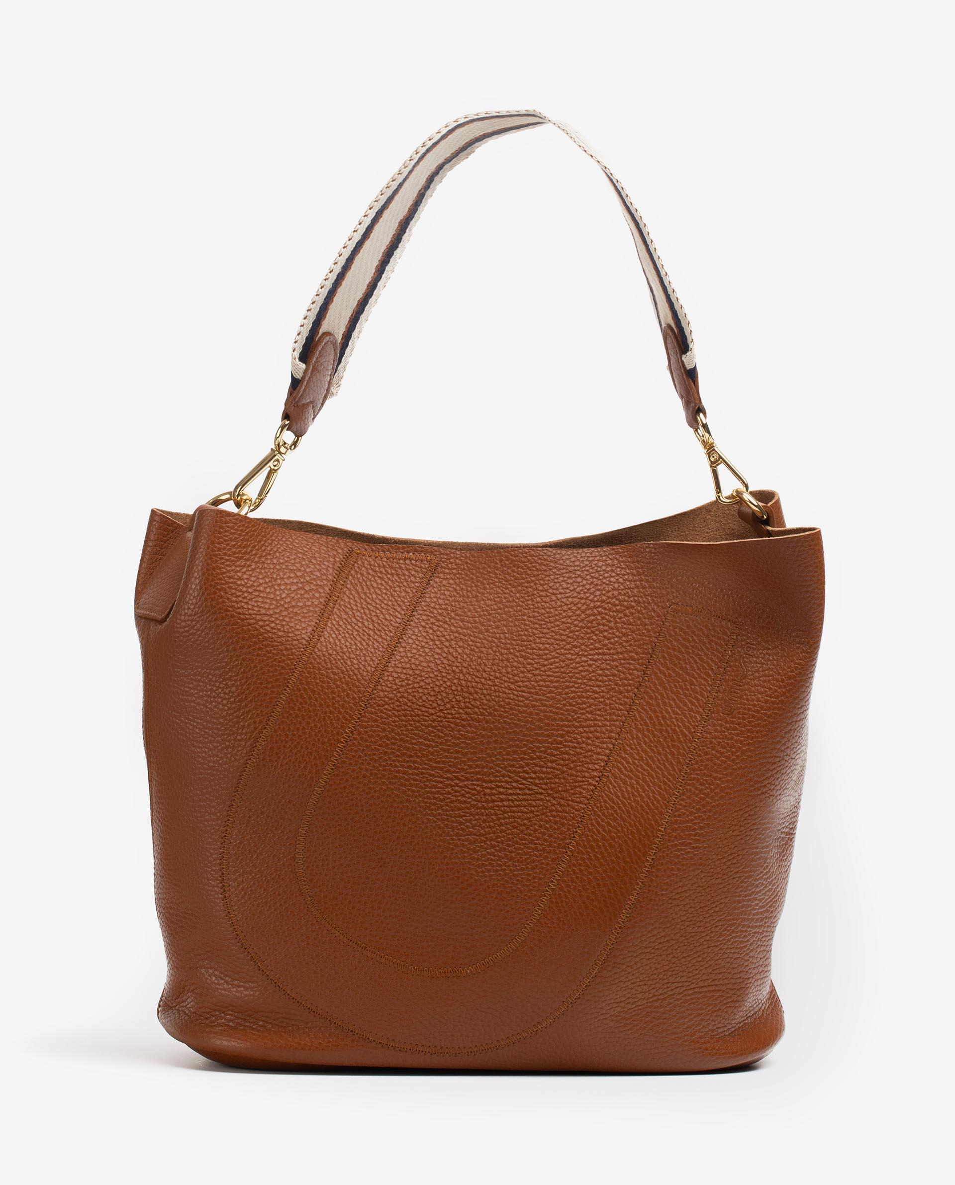 UNISA Bolso shopper de piel ZUNI_MM