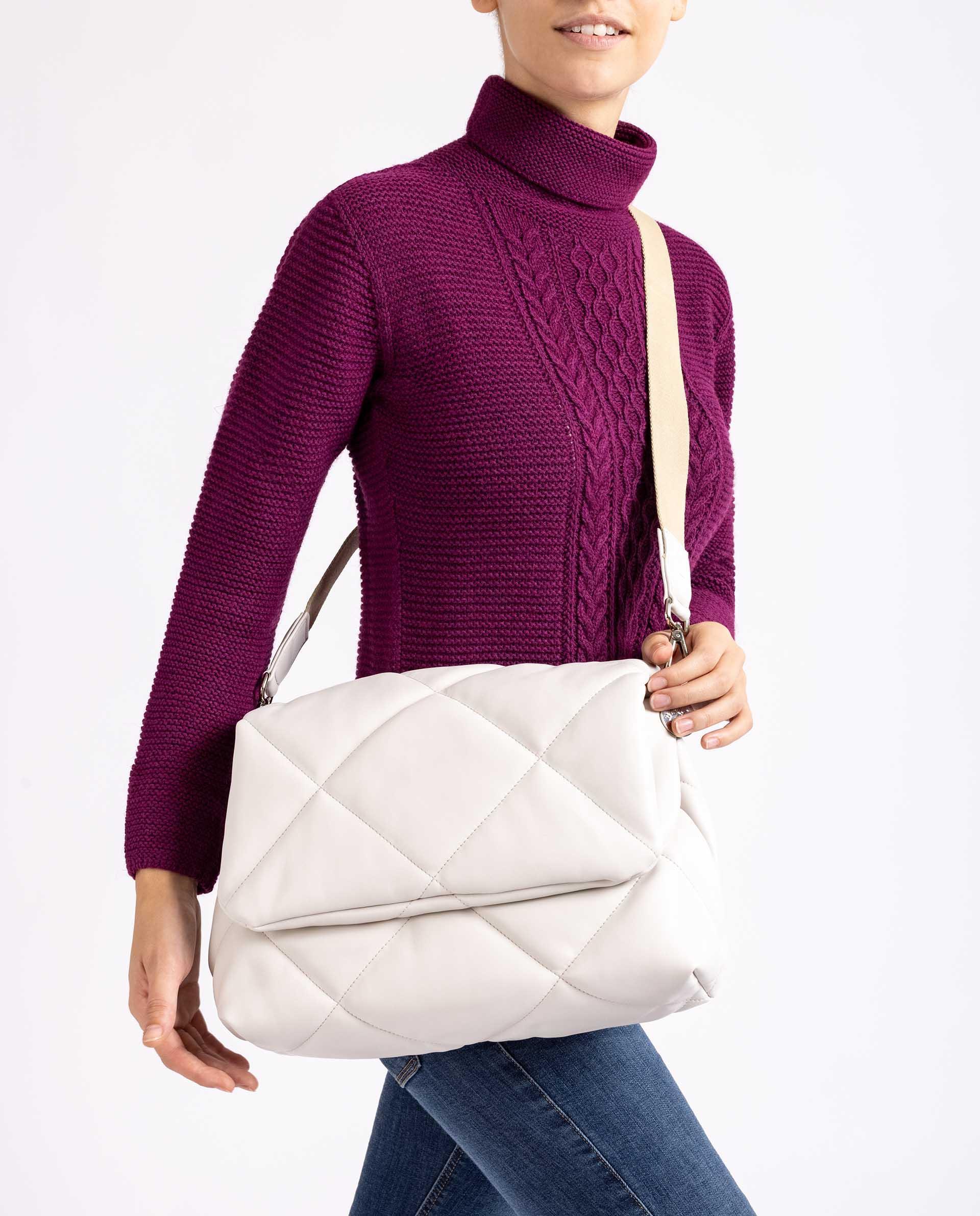Unisa Medium-handbags ZKERINA_SUP ivory