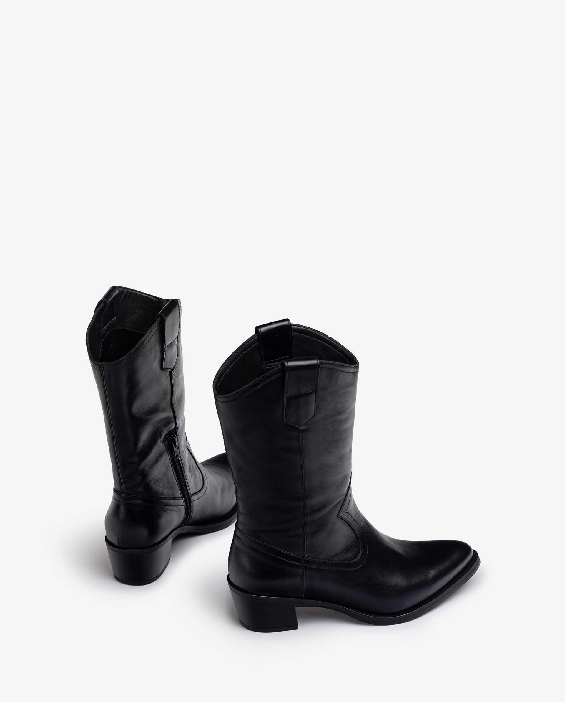 Unisa Boots GLADIS_F21_SCO black