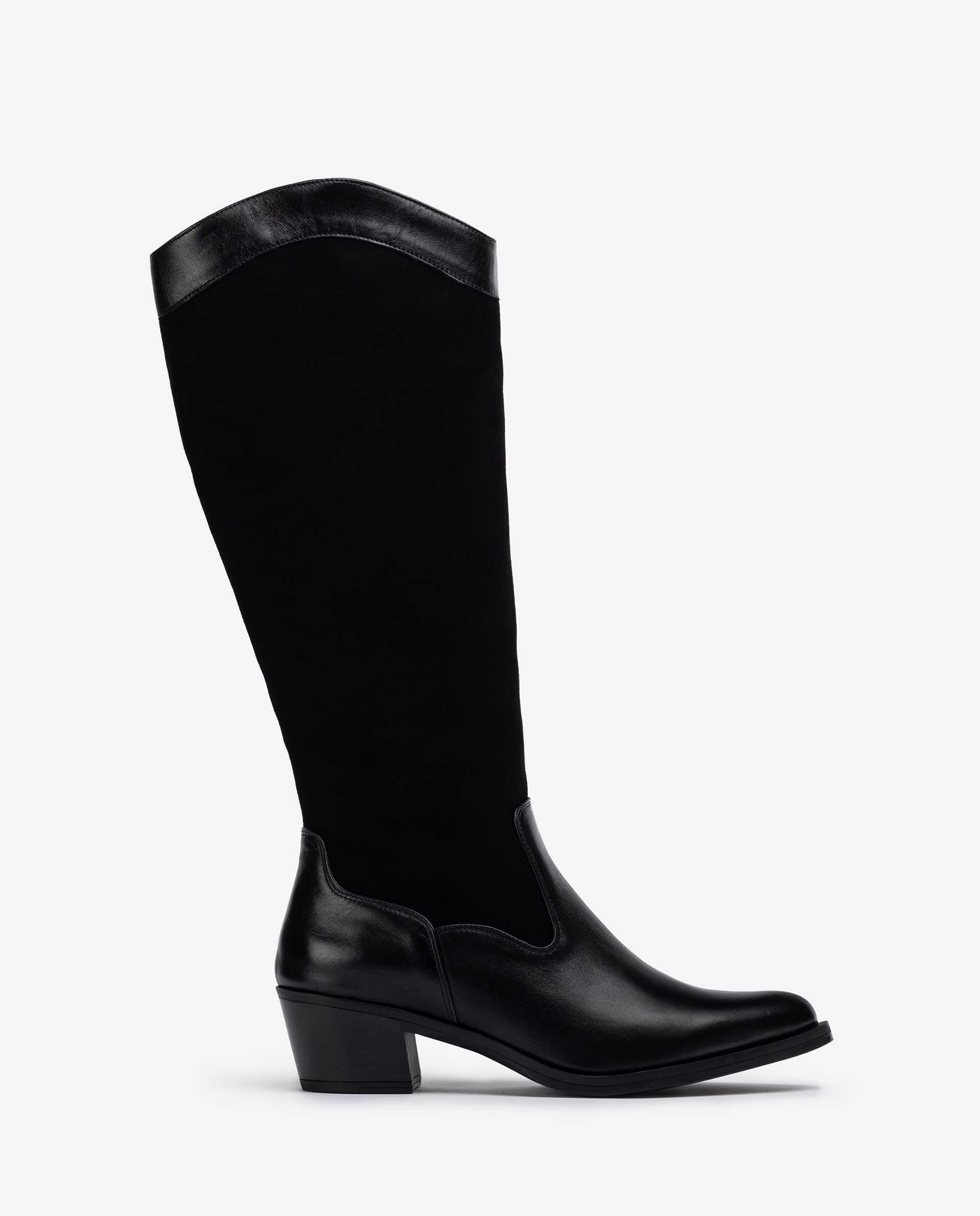 Unisa Boots GOLTO_SCO_BS black