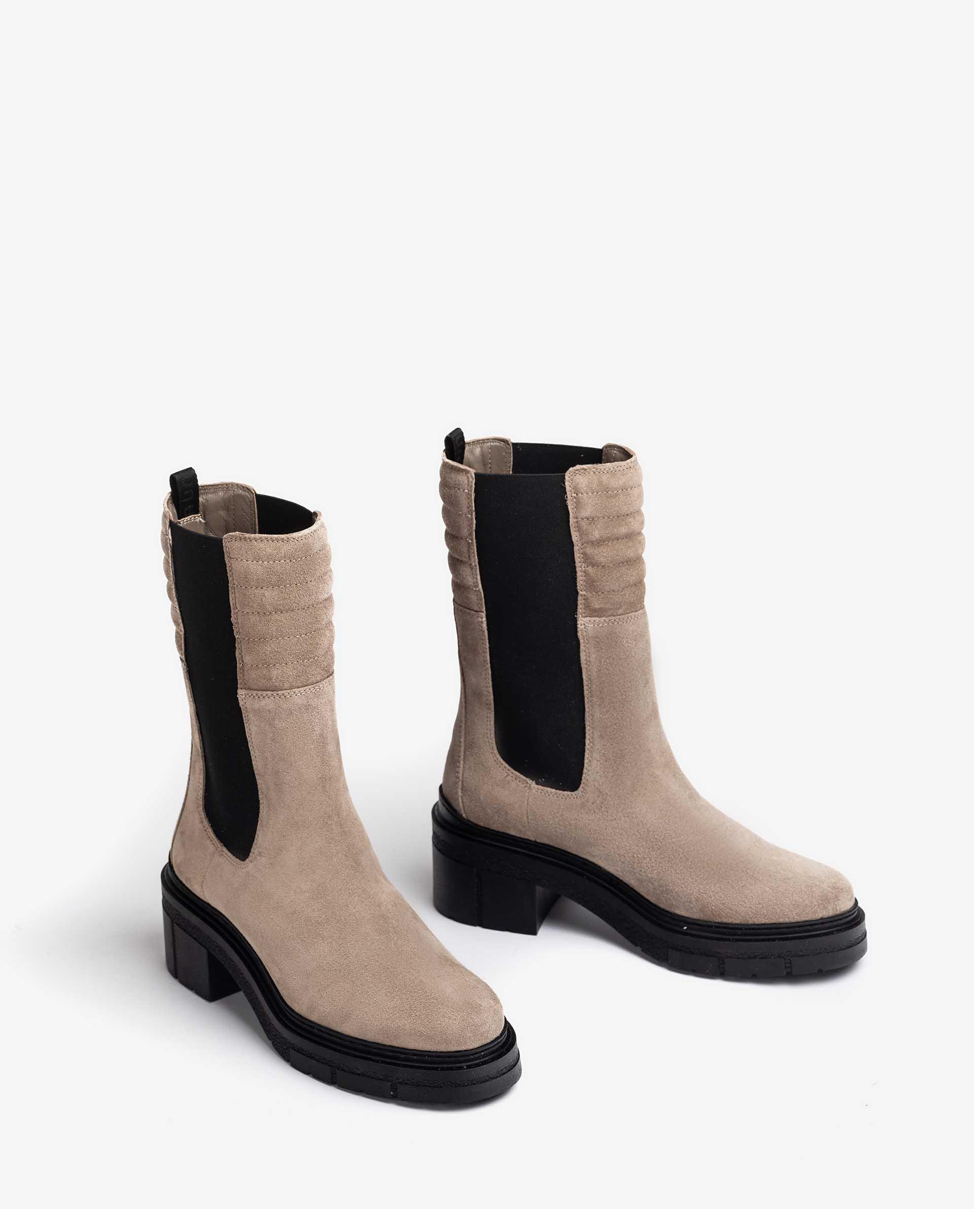 Unisa Boots JINA_F21_BS taupe