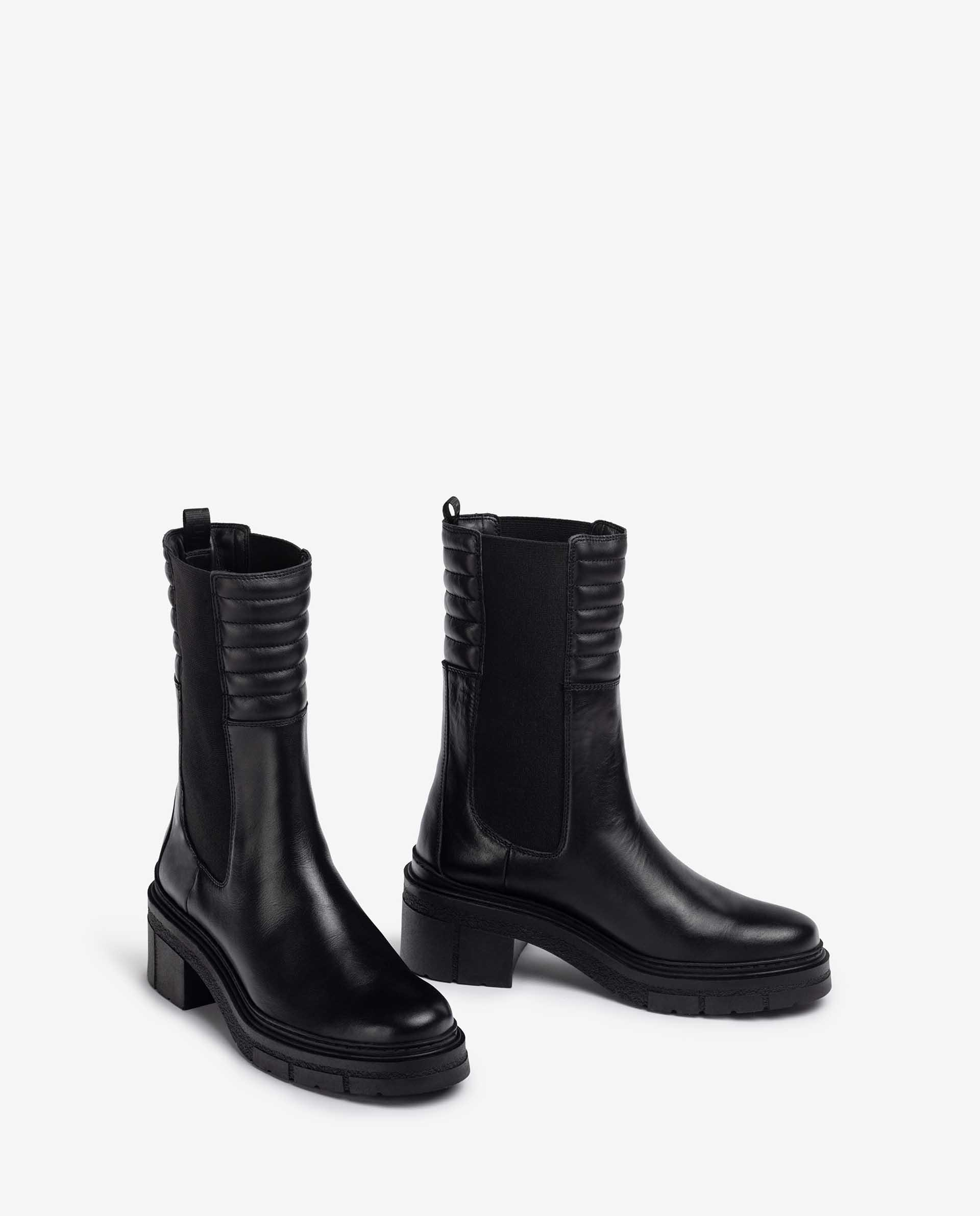 UNISA High shaft chelsea ankle boots JINA_F21_NF 2