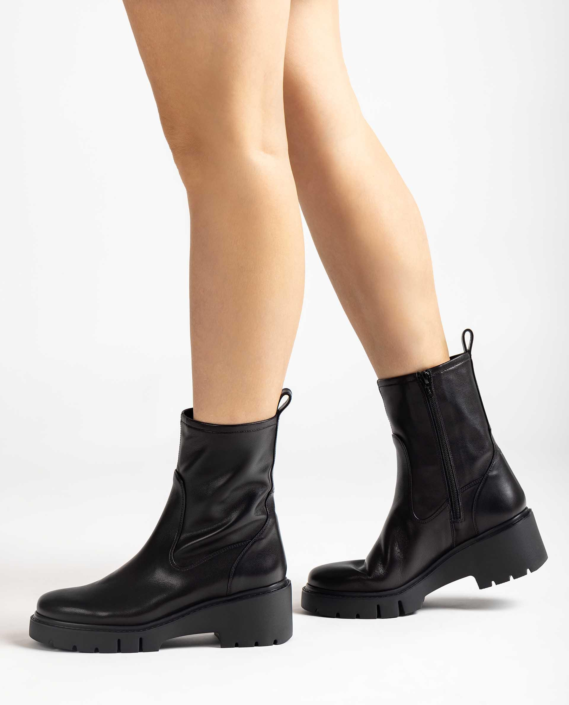 Unisa Boots JOFO_VU black