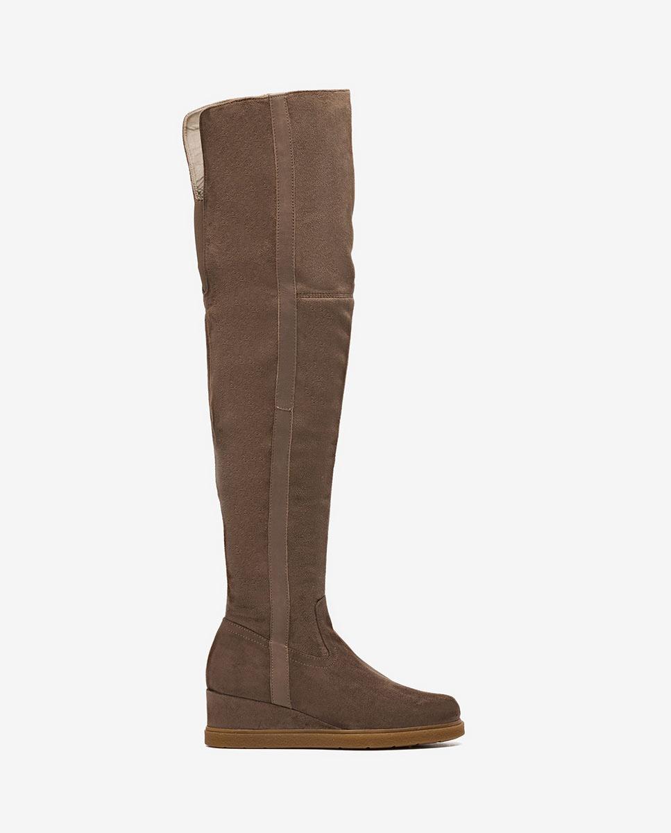 Unisa Boots JUSTI_ST taupe