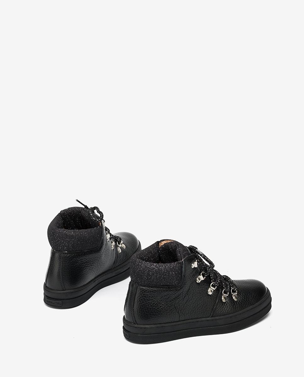 UNISA Black hiking booties ALISE_F20_MM black 2