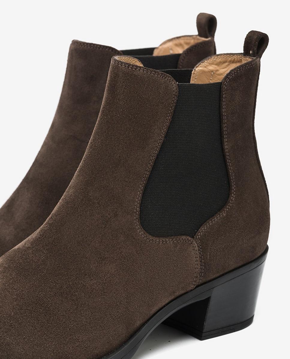 UNISA Cowboy Chelsea ankle boots GREYSON_F20_BS rhino 2