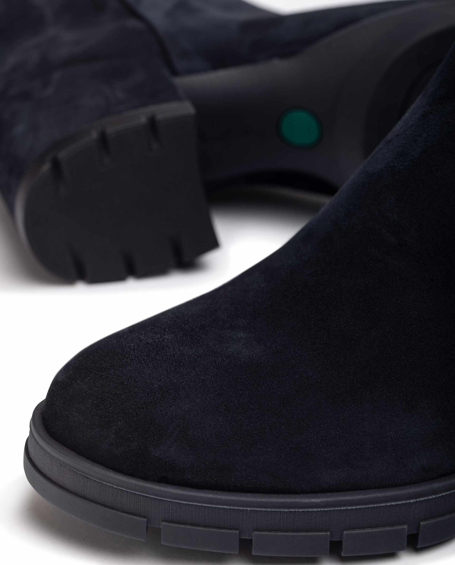 UNISA Kid suede ankle boots with back zip JAICO_F21_KS 2