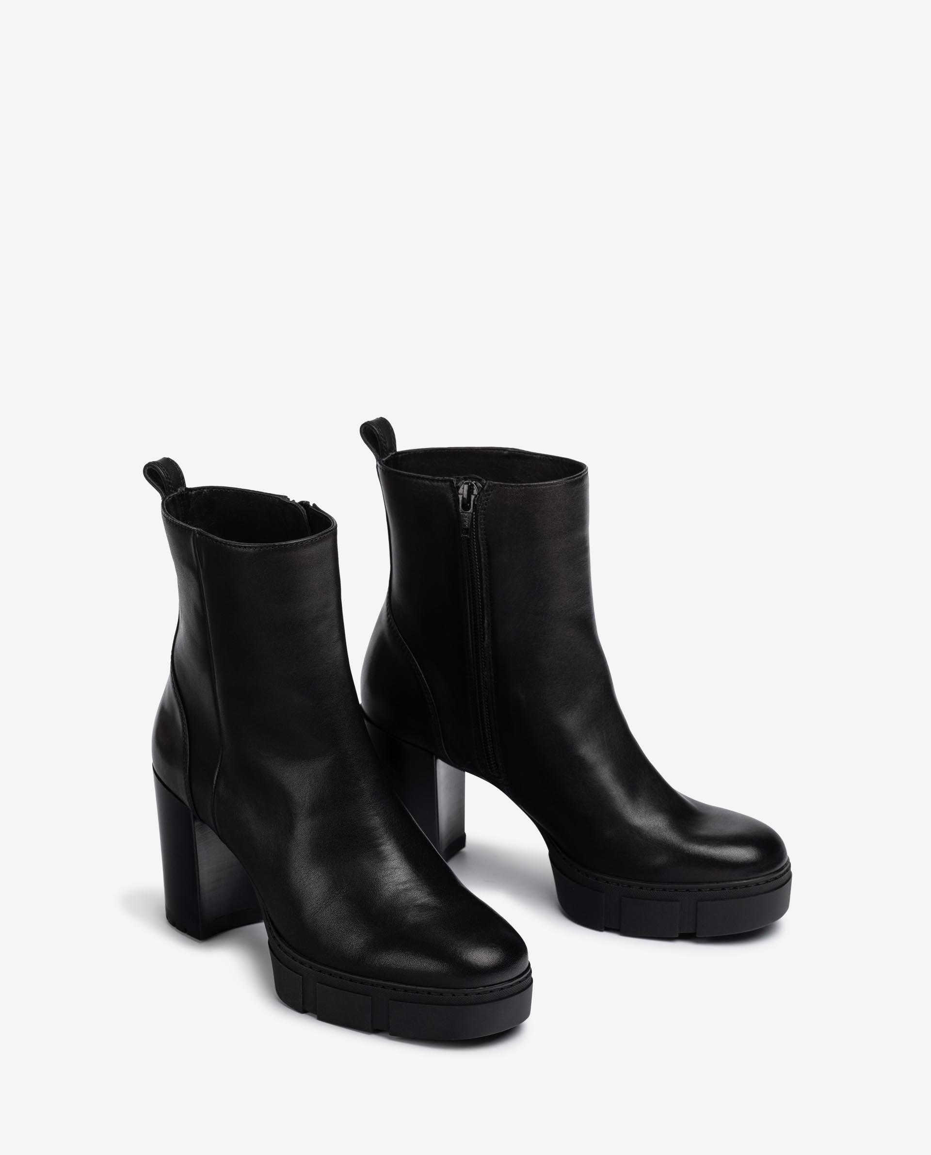 Unisa Ankle boots KOPSI_VU black